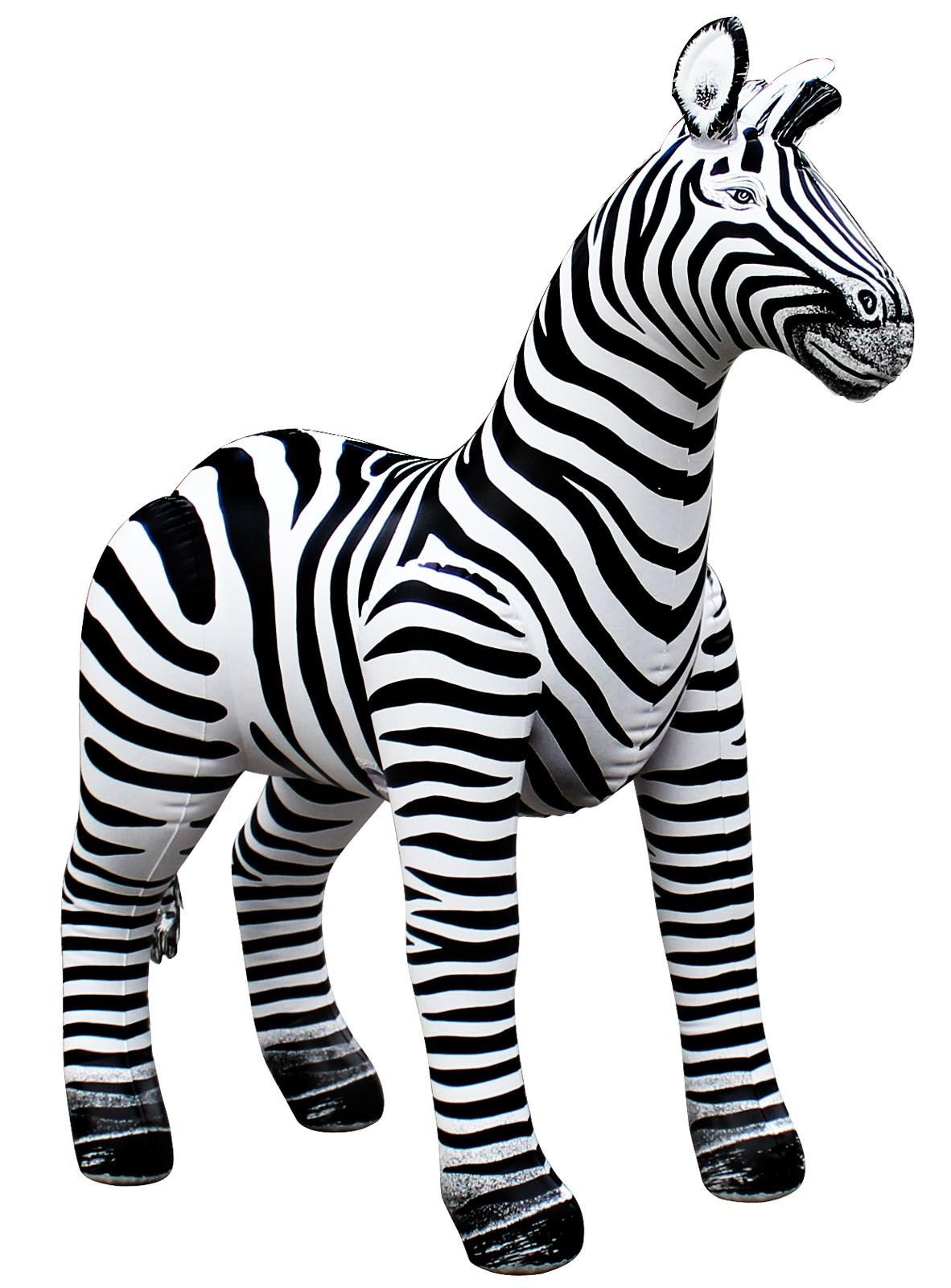 "Image of Inflatable Zebra (29"")"