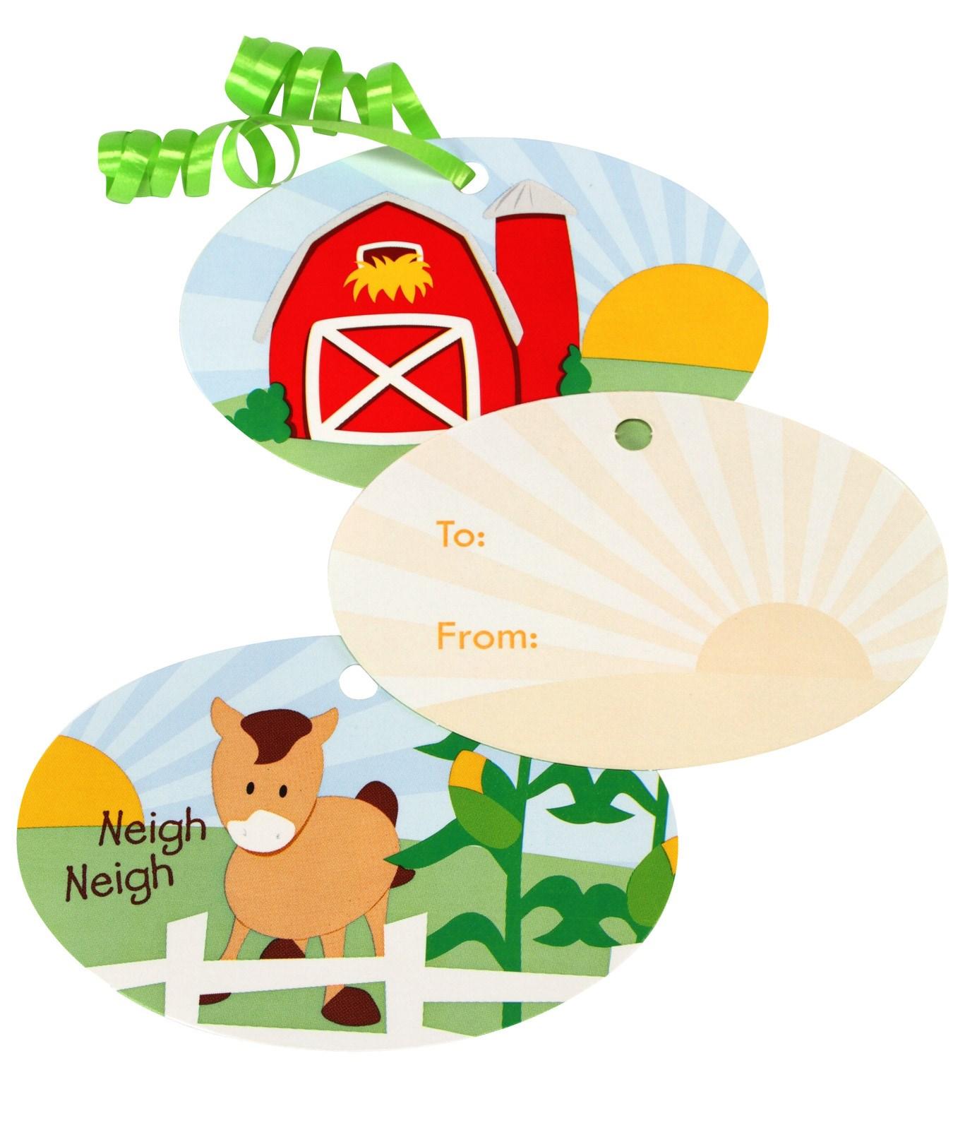 Image of Barnyard Gift Tags