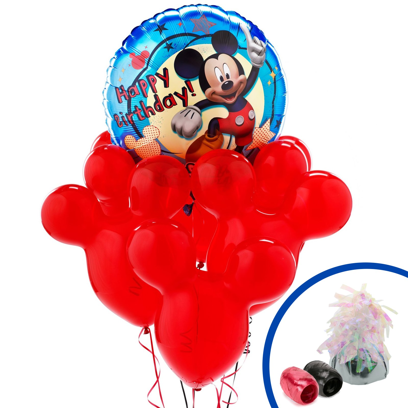 Disney Mickey Mouse Singing Balloon Bouquet