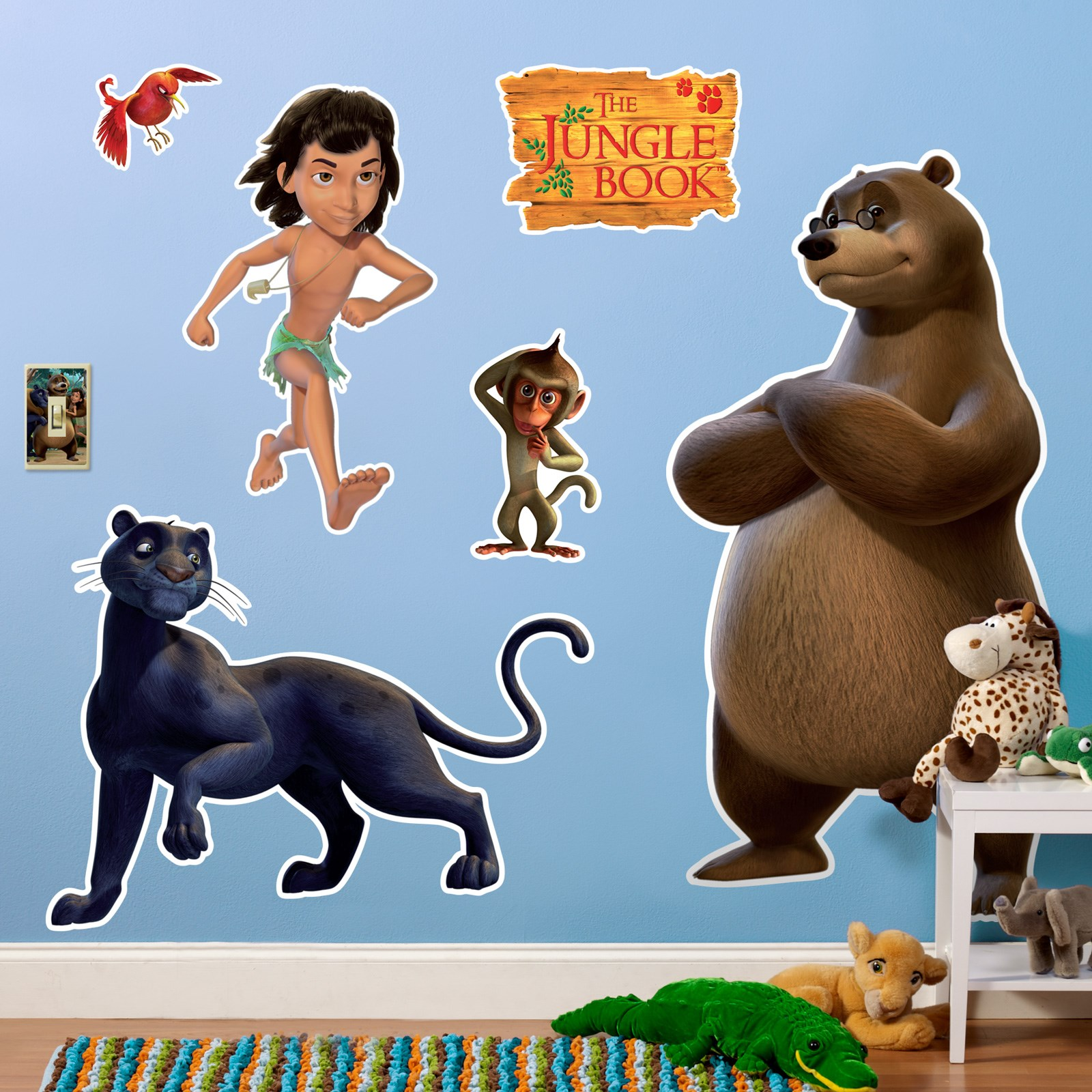 Image of The Jungle Book Giant Wall Decals