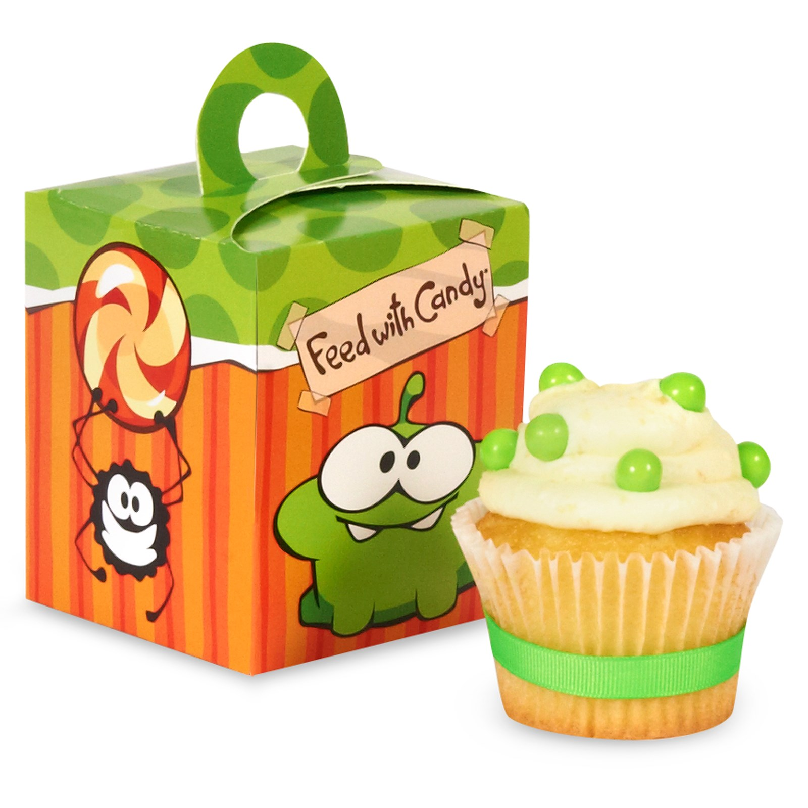 Cut the Rope Cupcake Boxes