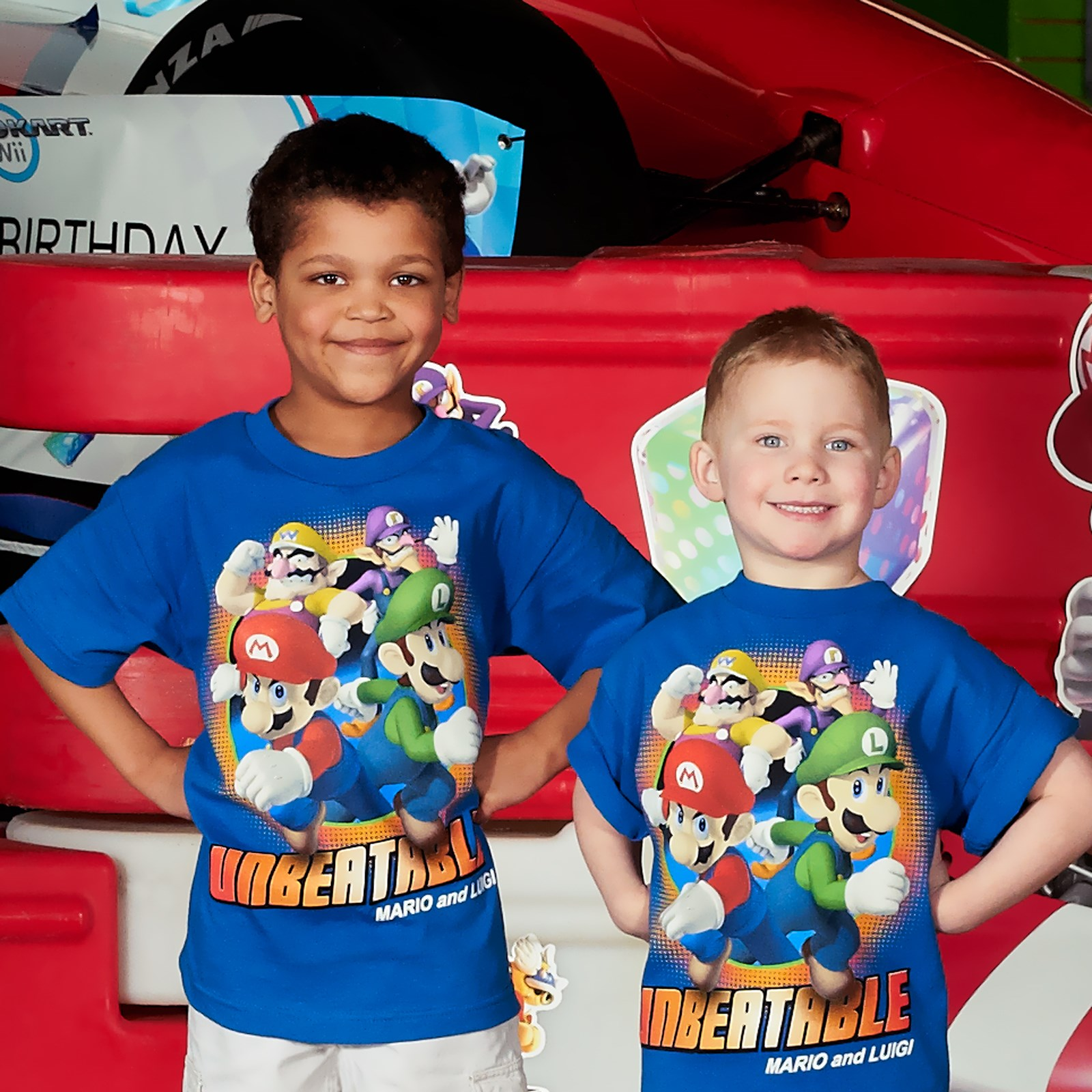 Image of Super Mario Bros. Game Day T-Shirt 6/8