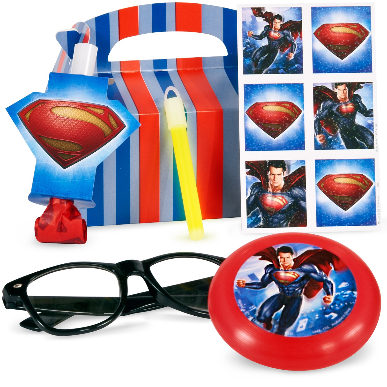 Superman: Man of Steel Party Favor Box