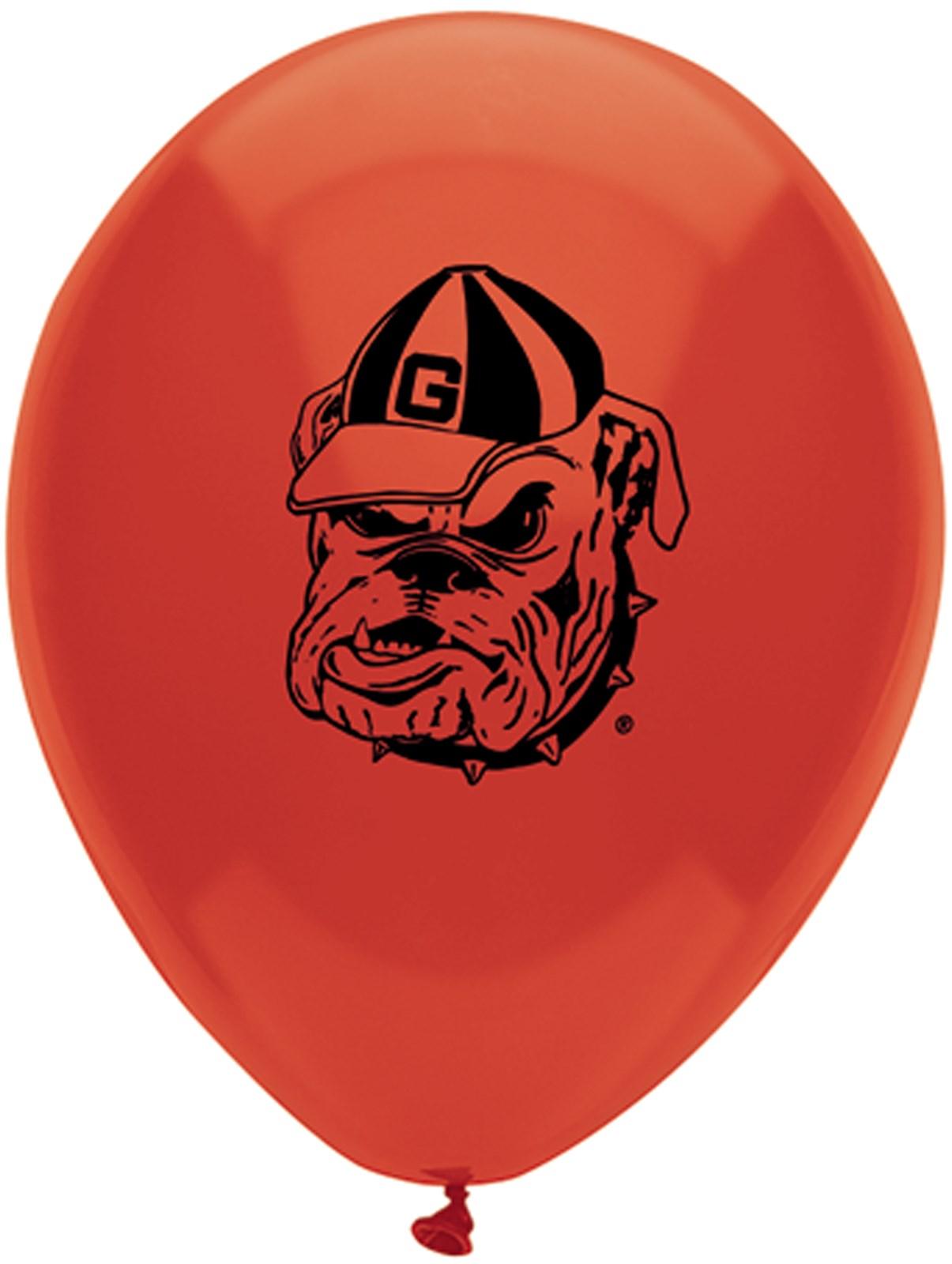 Image of Georgia Bulldogs Latex Balloons