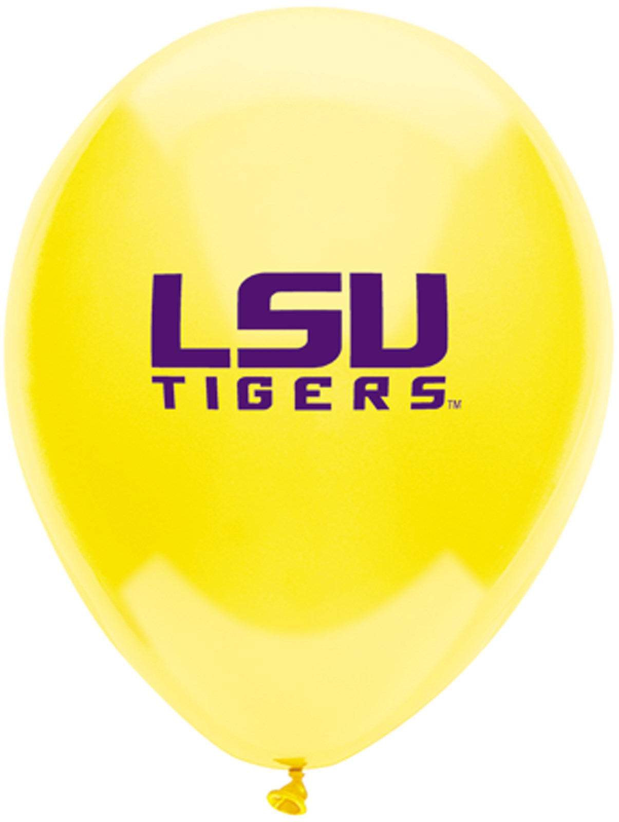 Image of Louisiana State Tigers (LSU) Latex Balloons
