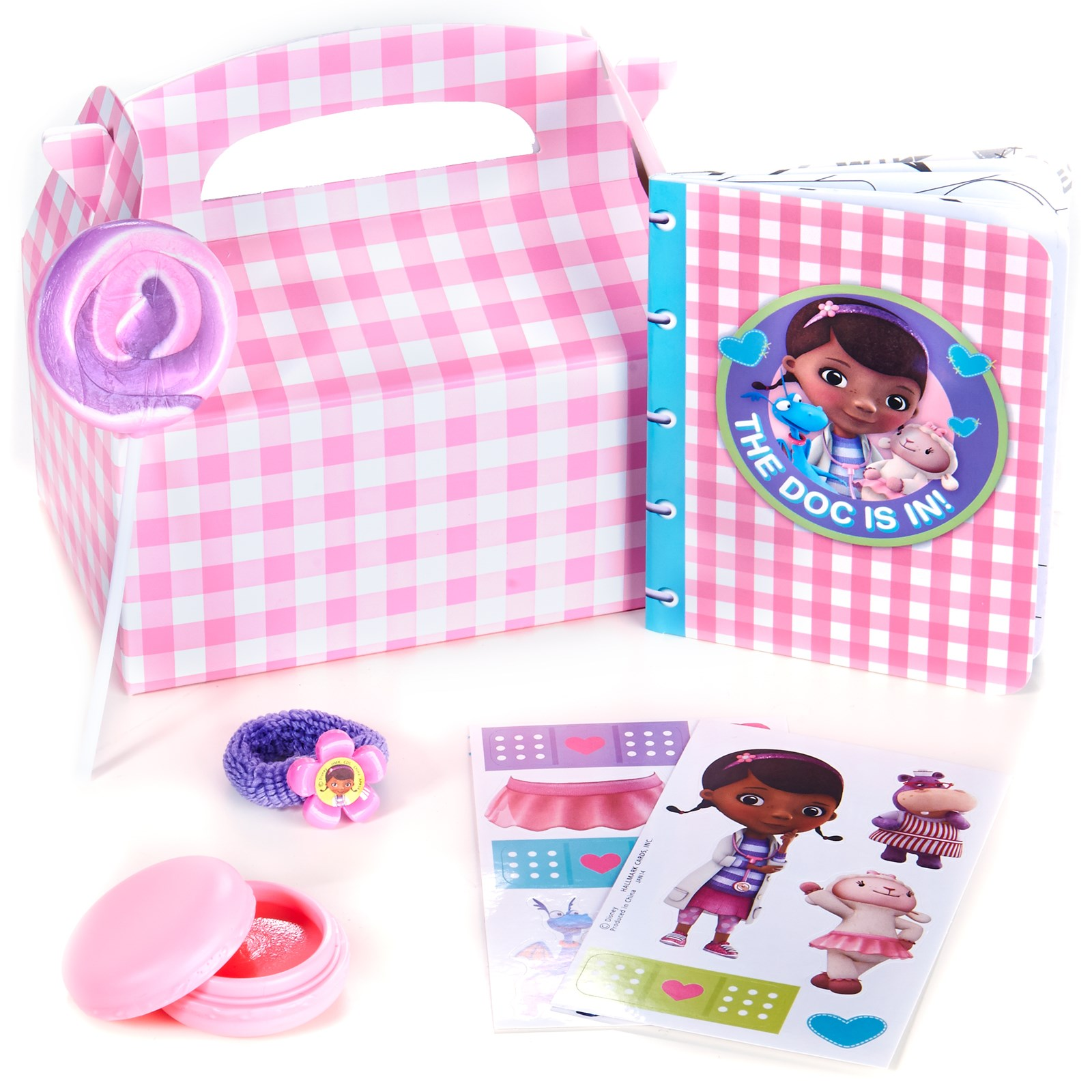 Image of Disney Junior Doc McStuffins Party Favor Box