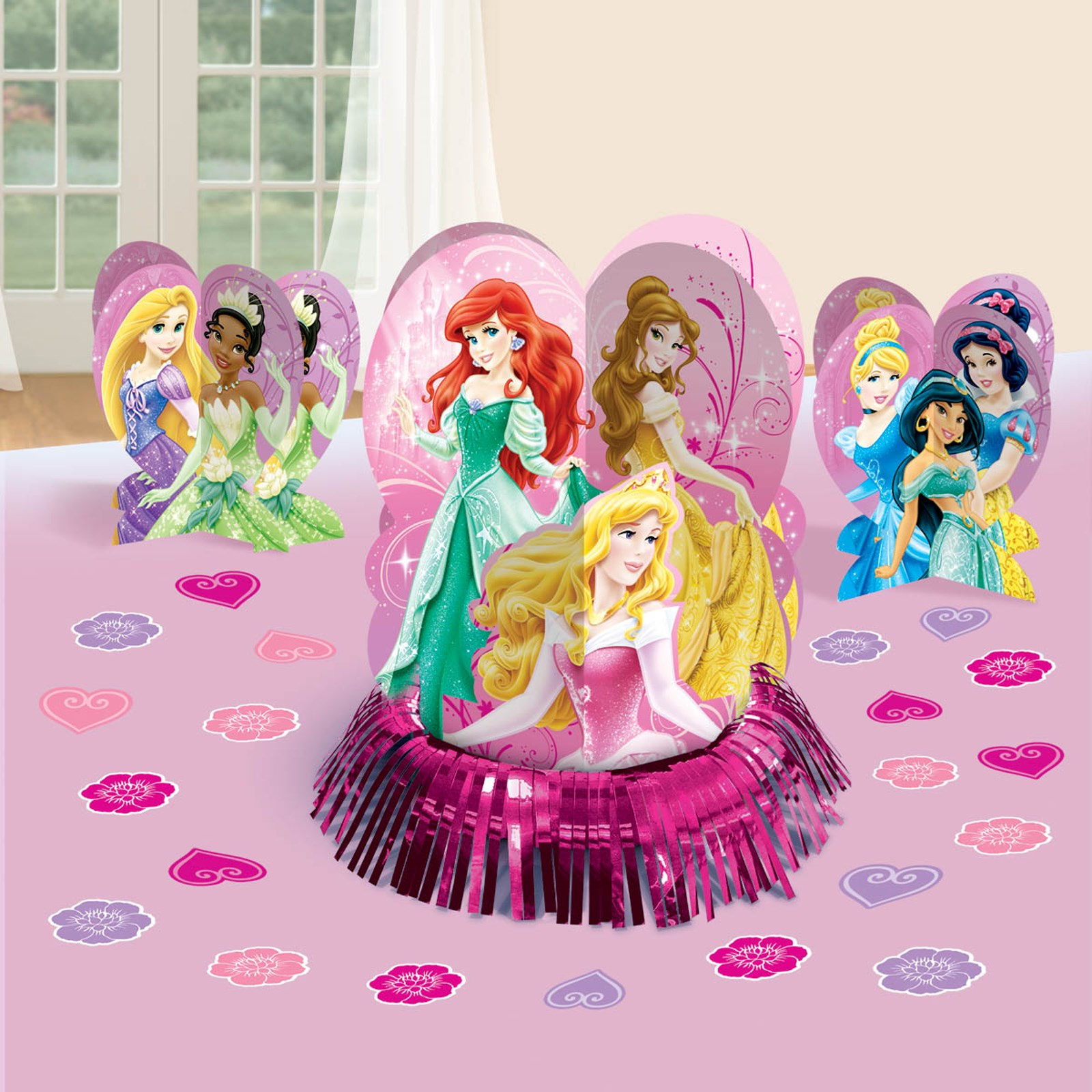 Disney Very Important Princess Dream Party Tabletop Decorations