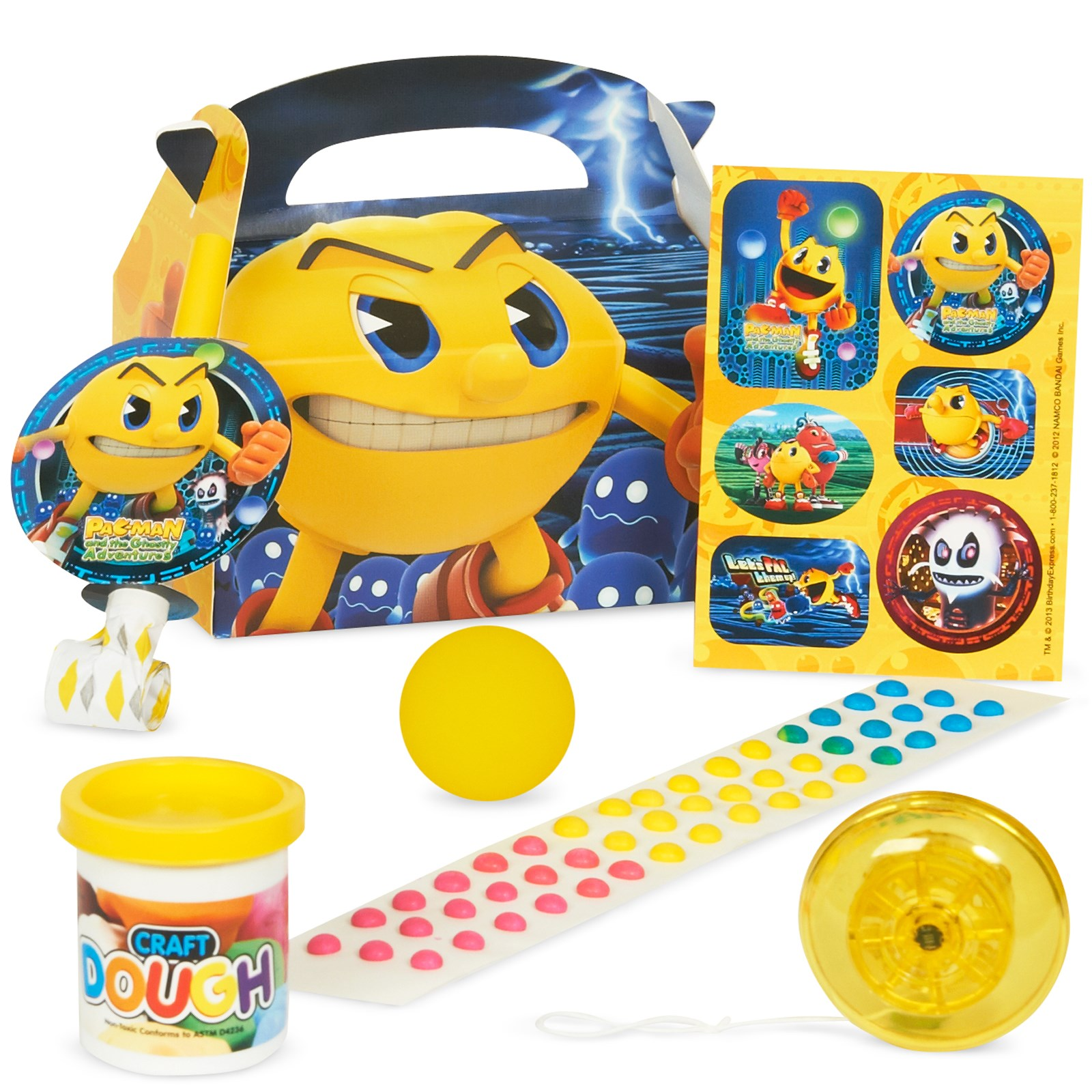 PAC-MAN and the Ghostly Adventures Filled Party Favor Box