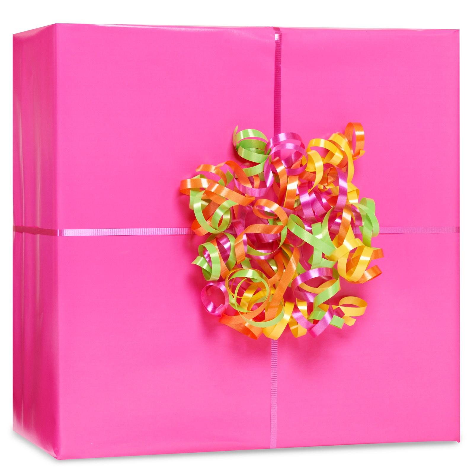 Image of Bright Pink Gift Wrap Kit