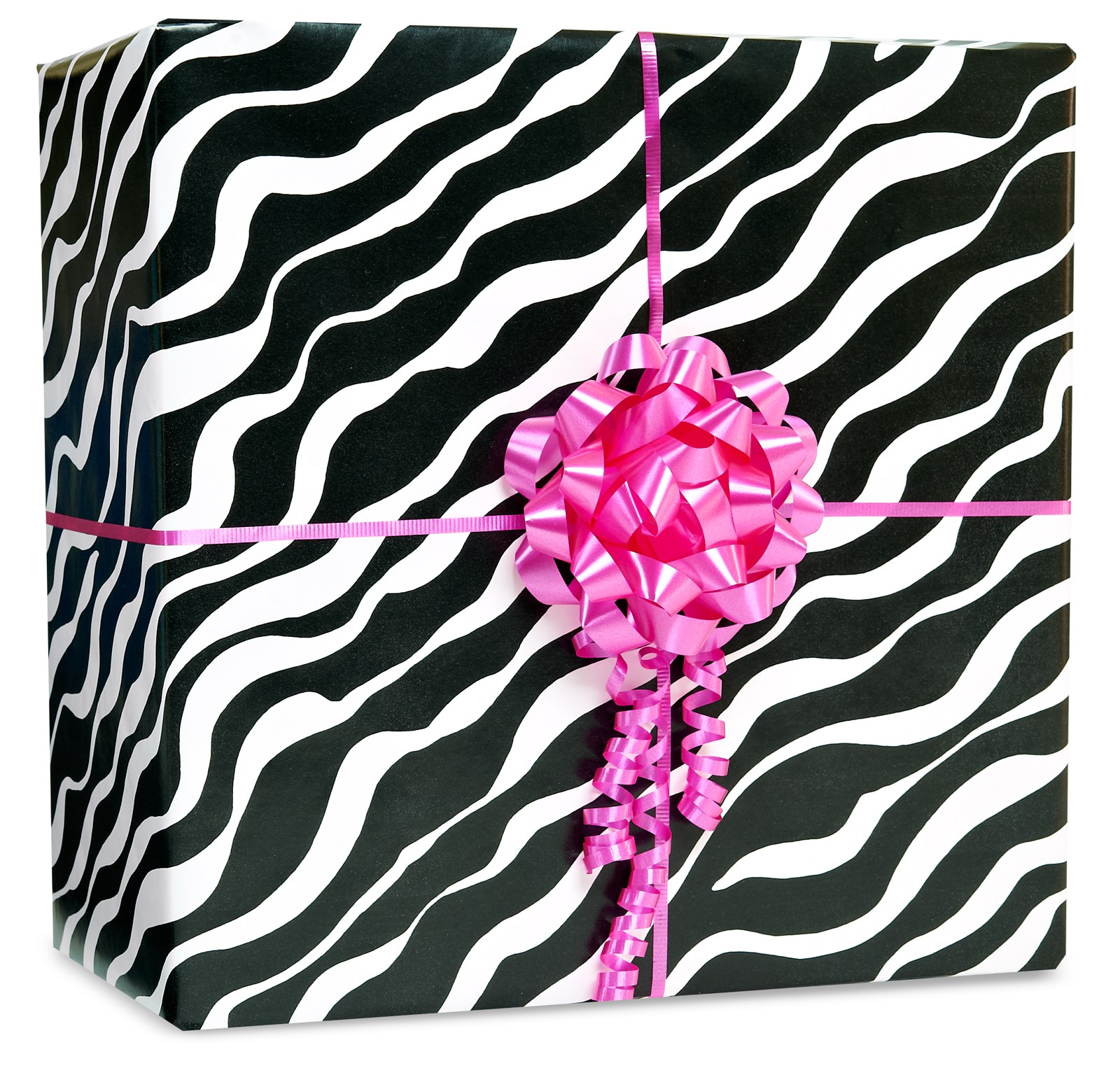 Image of Black Zebra Gift Wrap Kit