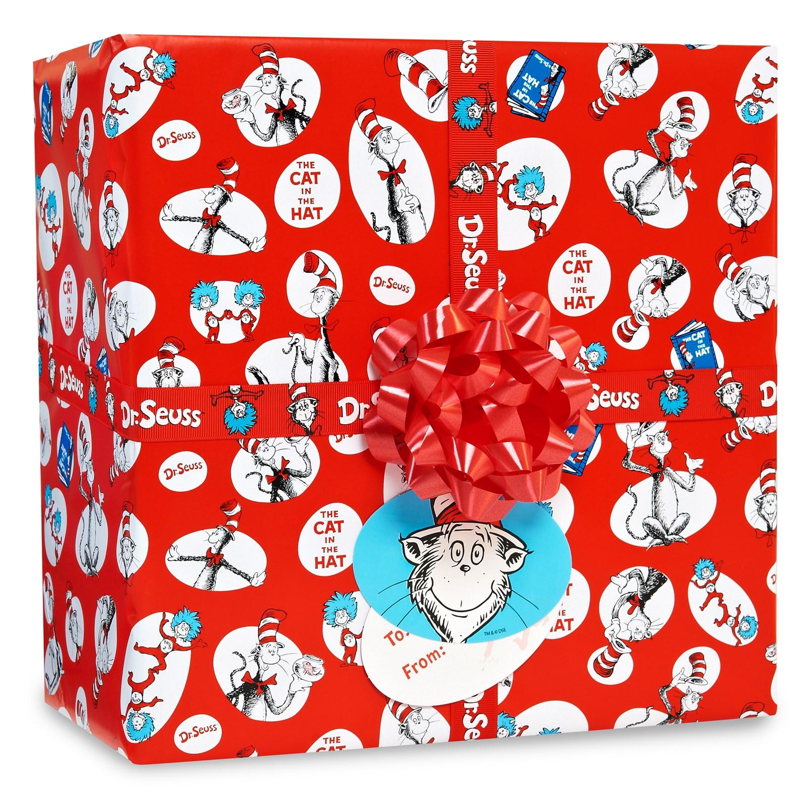 Image of Dr. Seuss Gift Wrap Kit