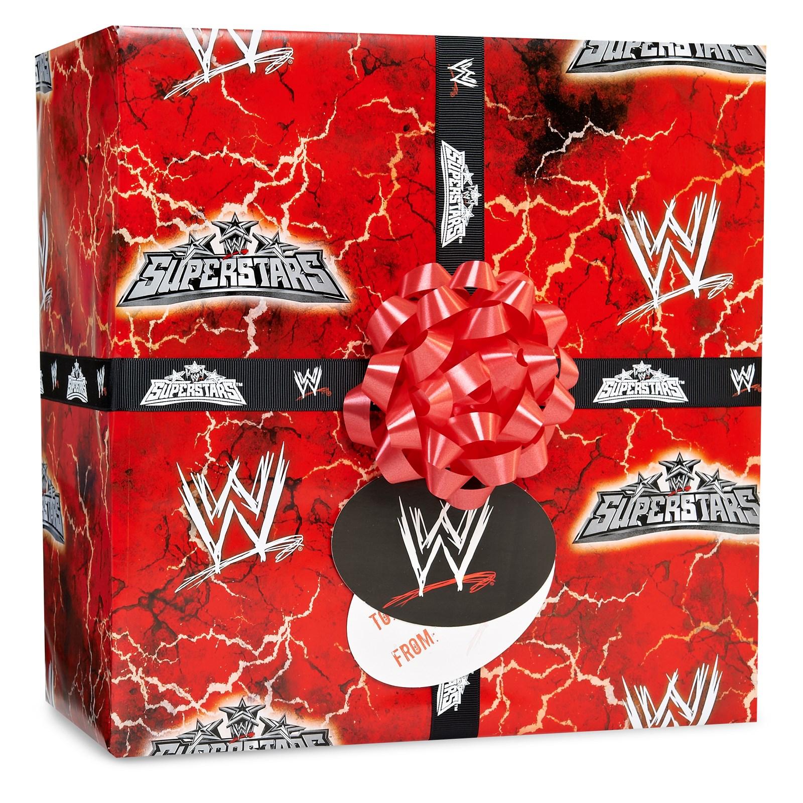 Image of WWE Gift Wrap Kit