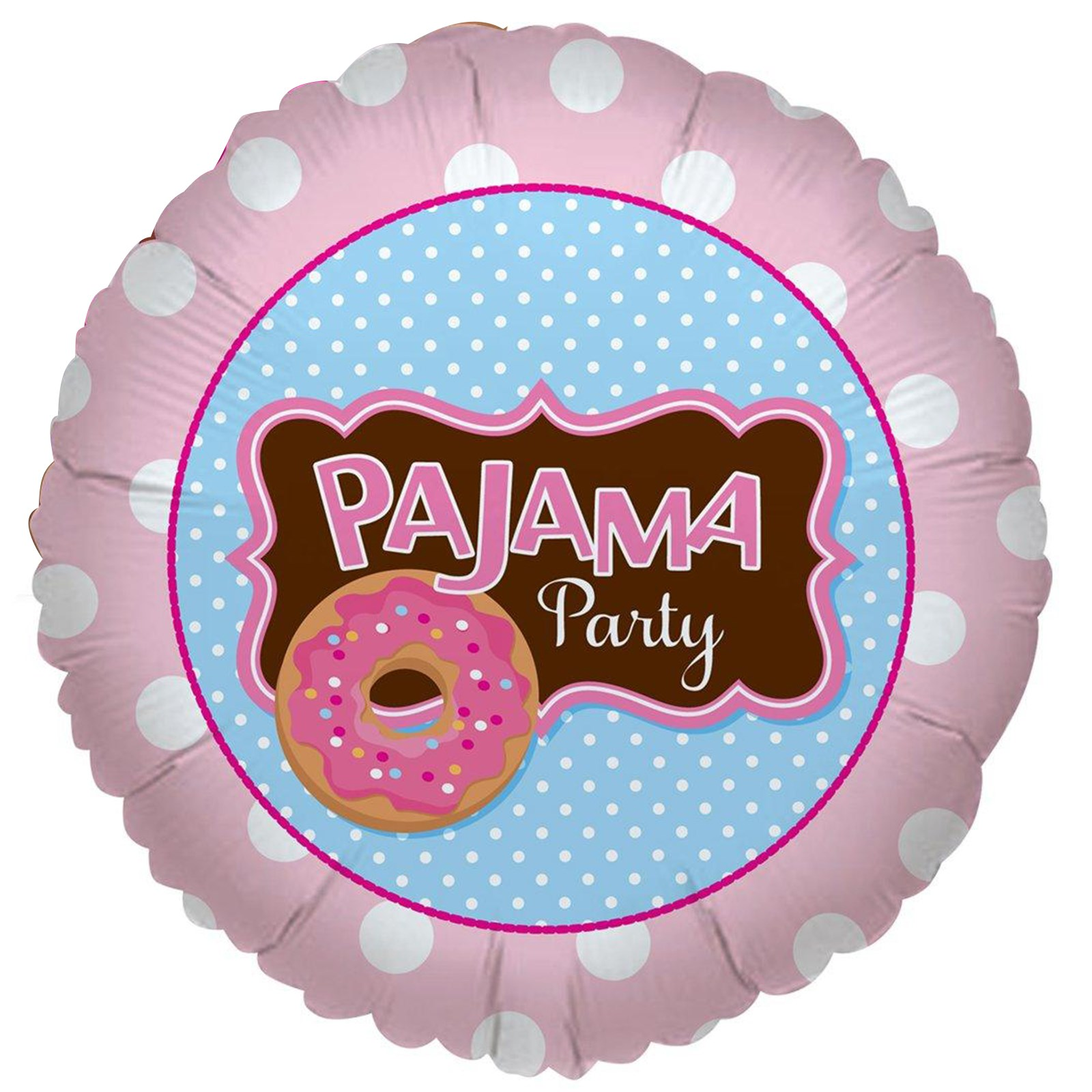 Image of Pajama Party Foil Balloon