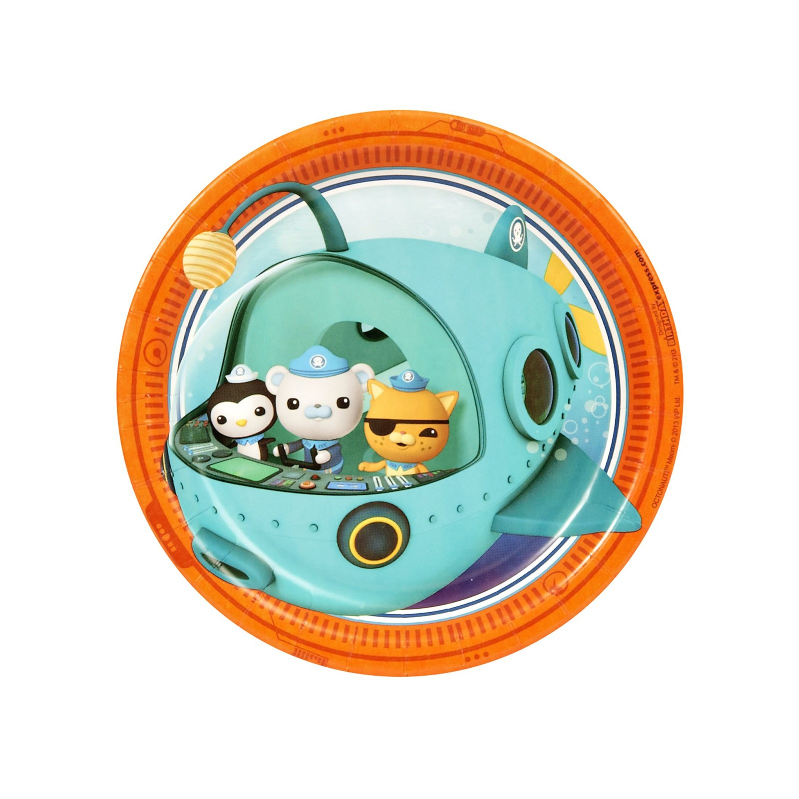 Image of The Octonauts Dessert Plates