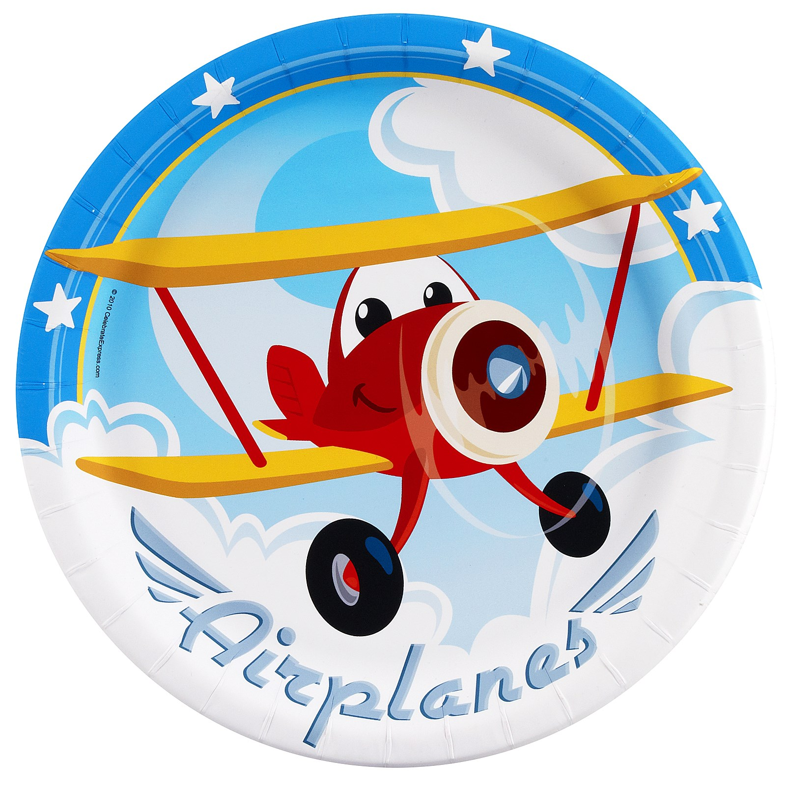Image of Airplane Adventure Dinner Plates