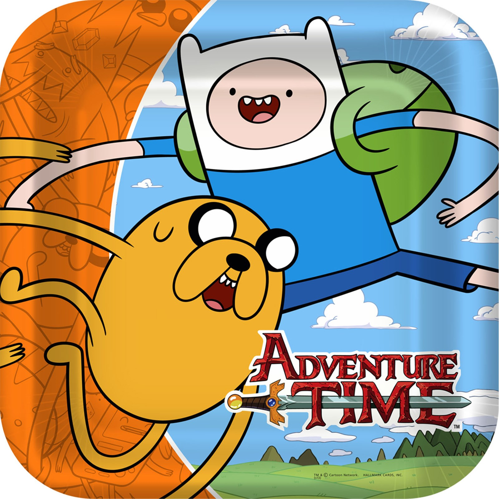 Image of Adventure Time Square Dinner Plates