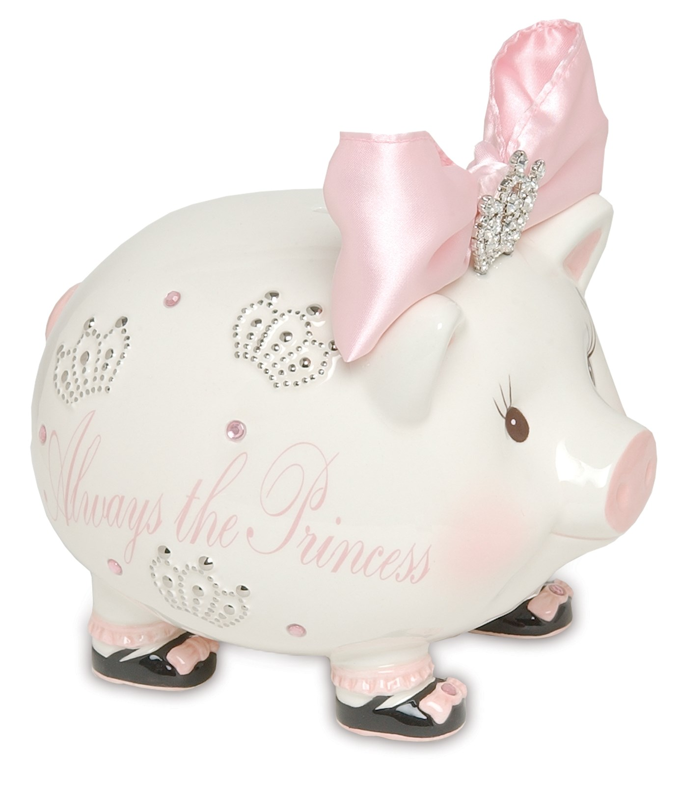 Image of Princess Jeweled Piggy Bank