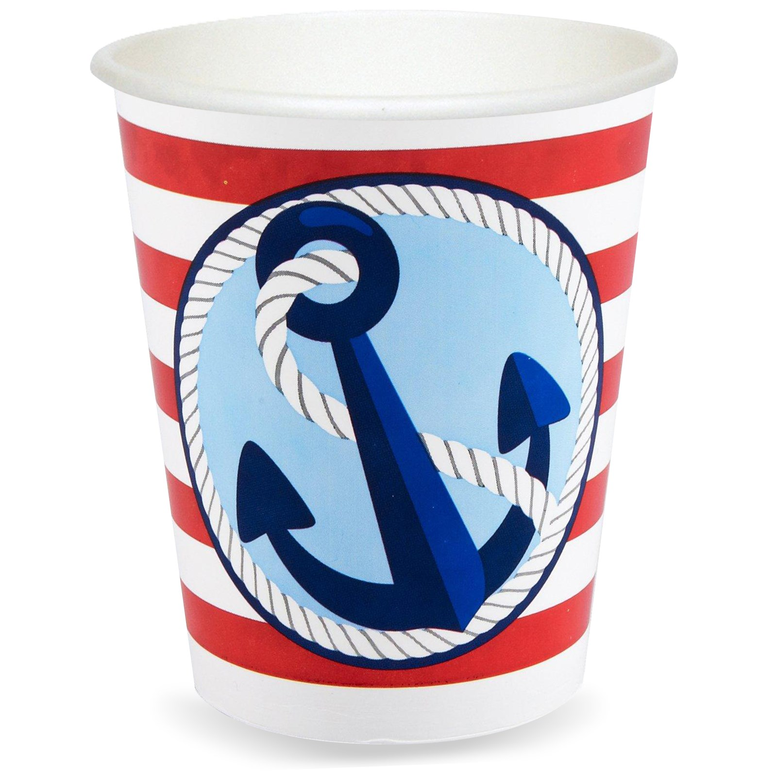 Image of Anchors Aweigh 9 oz. Cups