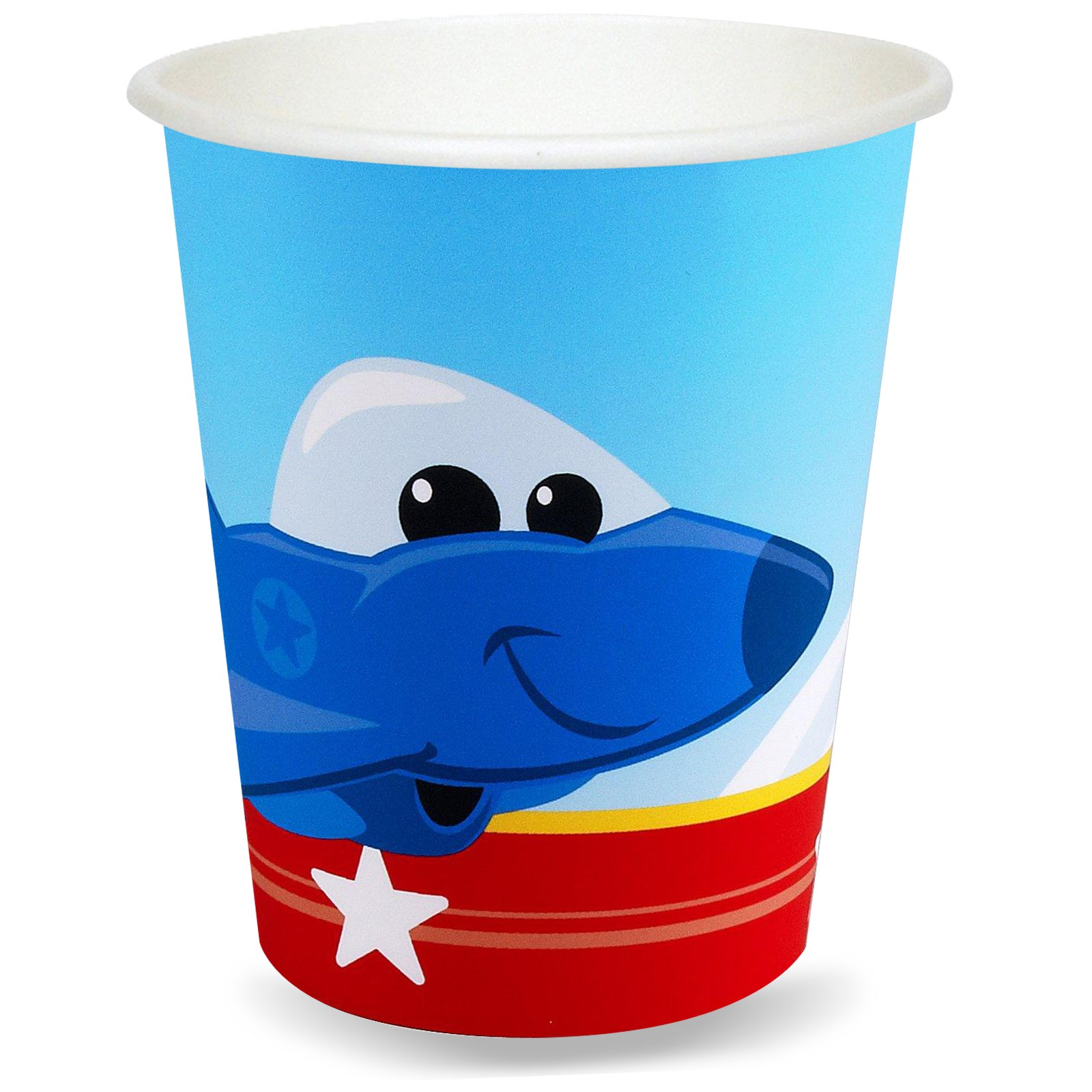 Image of Airplane Adventure 9 oz. Paper Cups