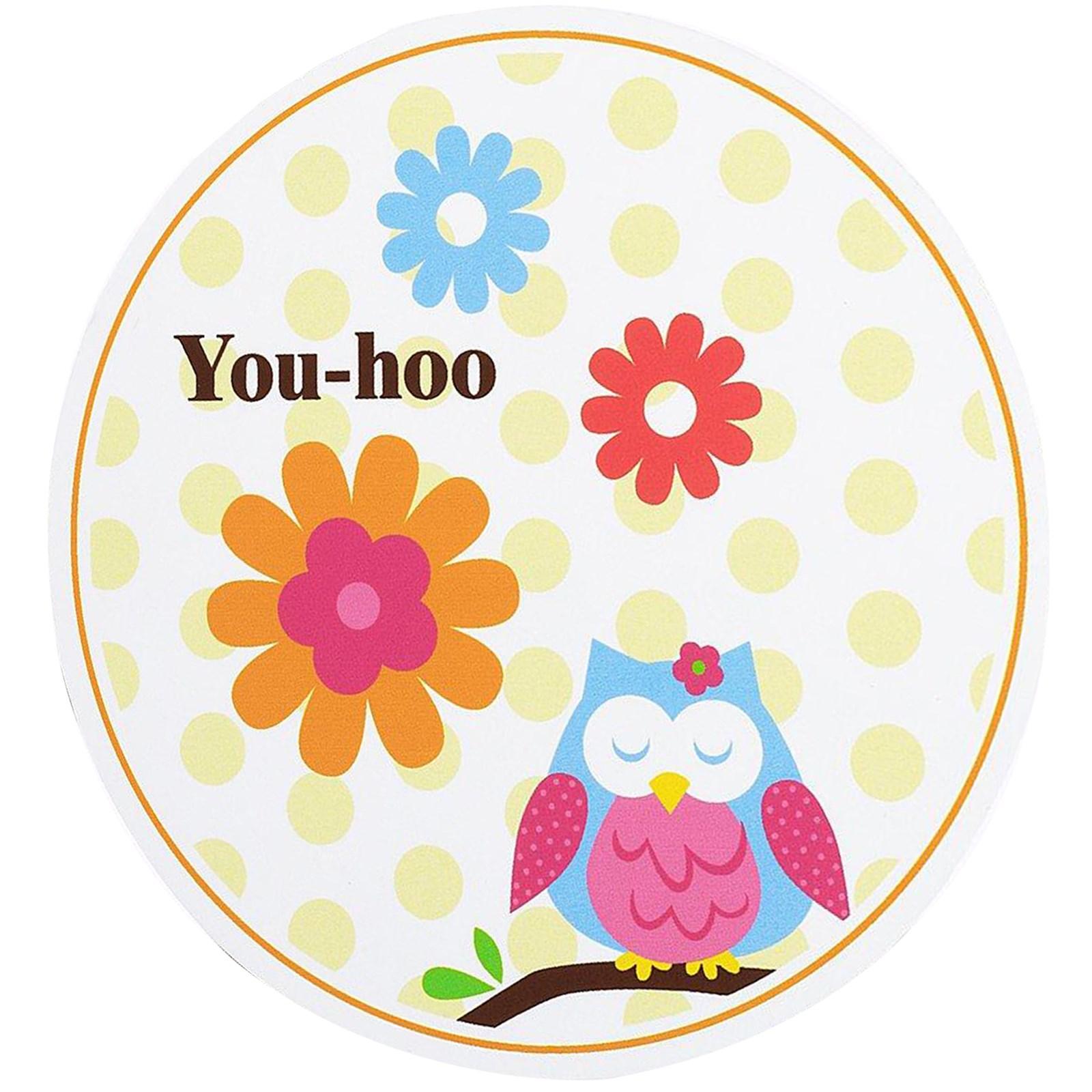 Owl Blossom Invitations kids birthday partyware