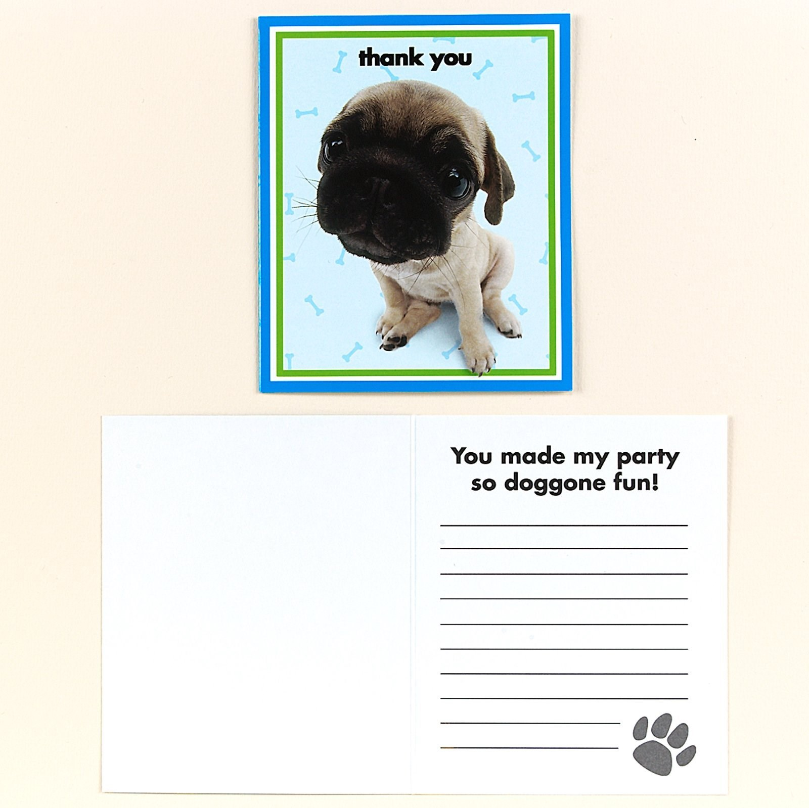 THE DOG Thank-You Notes