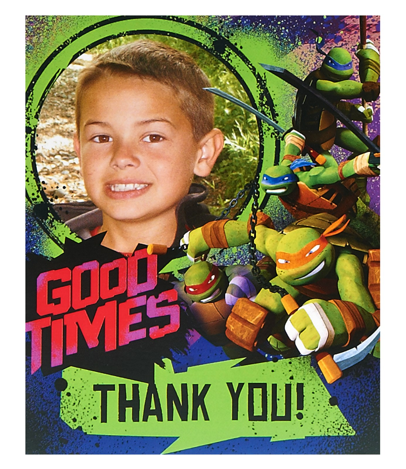 Nickelodeon Teenage Mutant Ninja Turtles - Personalized Thank-You Notes (8)