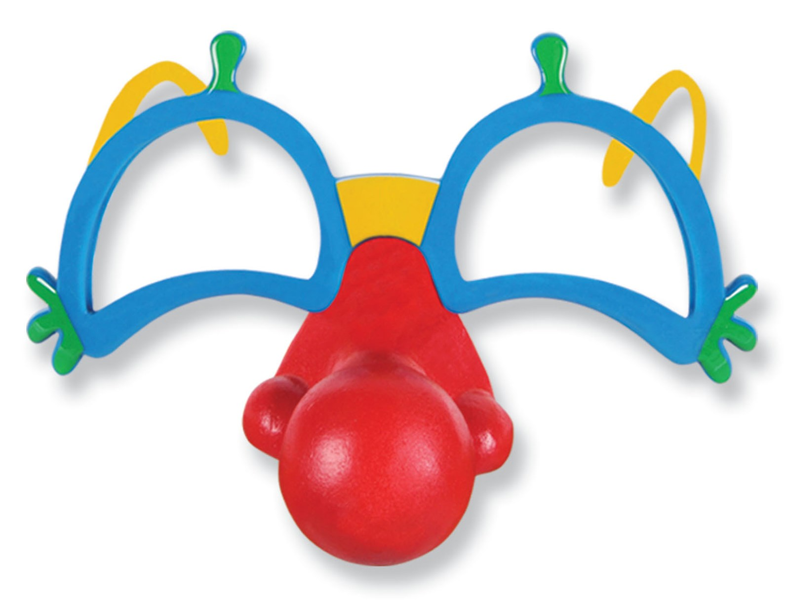 Image of Clown Glasses with Nose