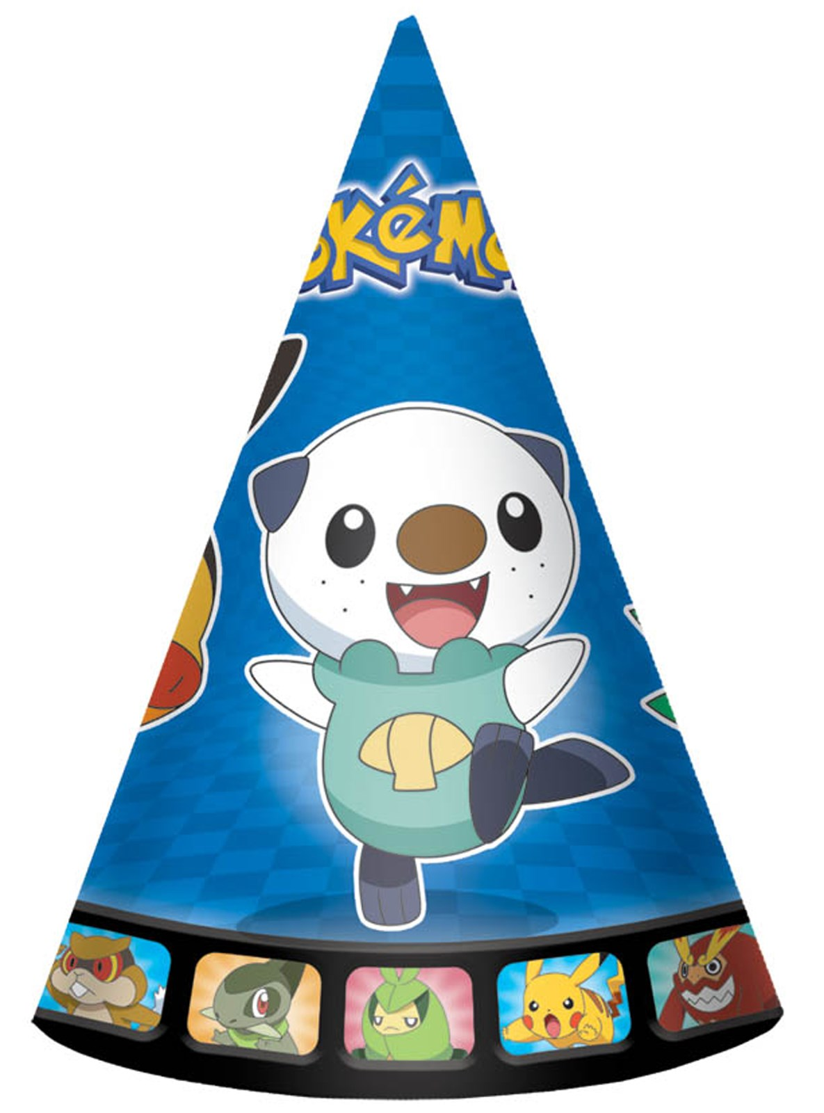 Pokemon Birthday Cone Hats One size.
