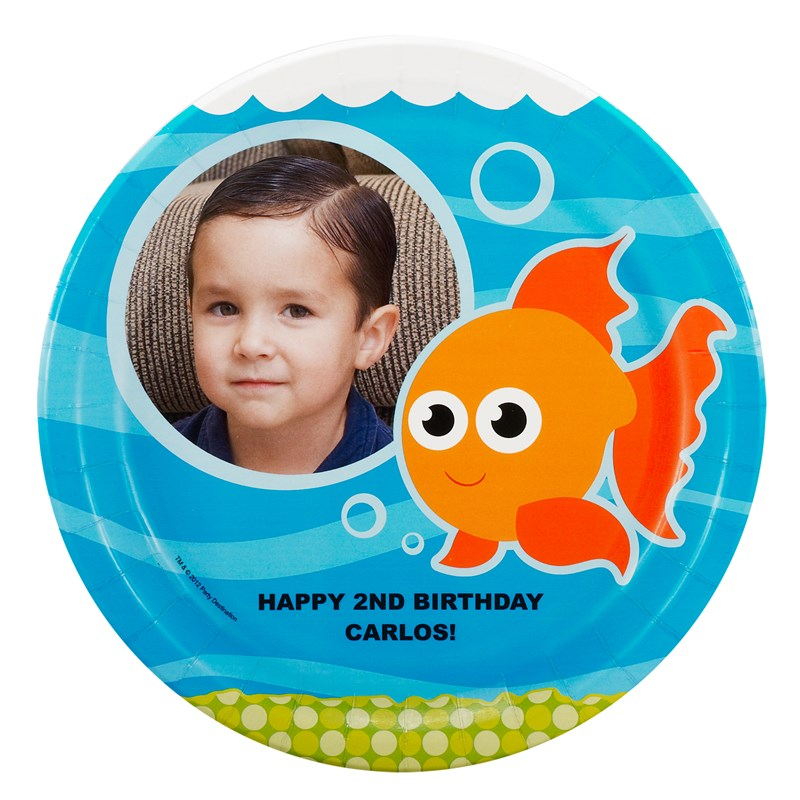 Goldfish Personalized Dinner Plates