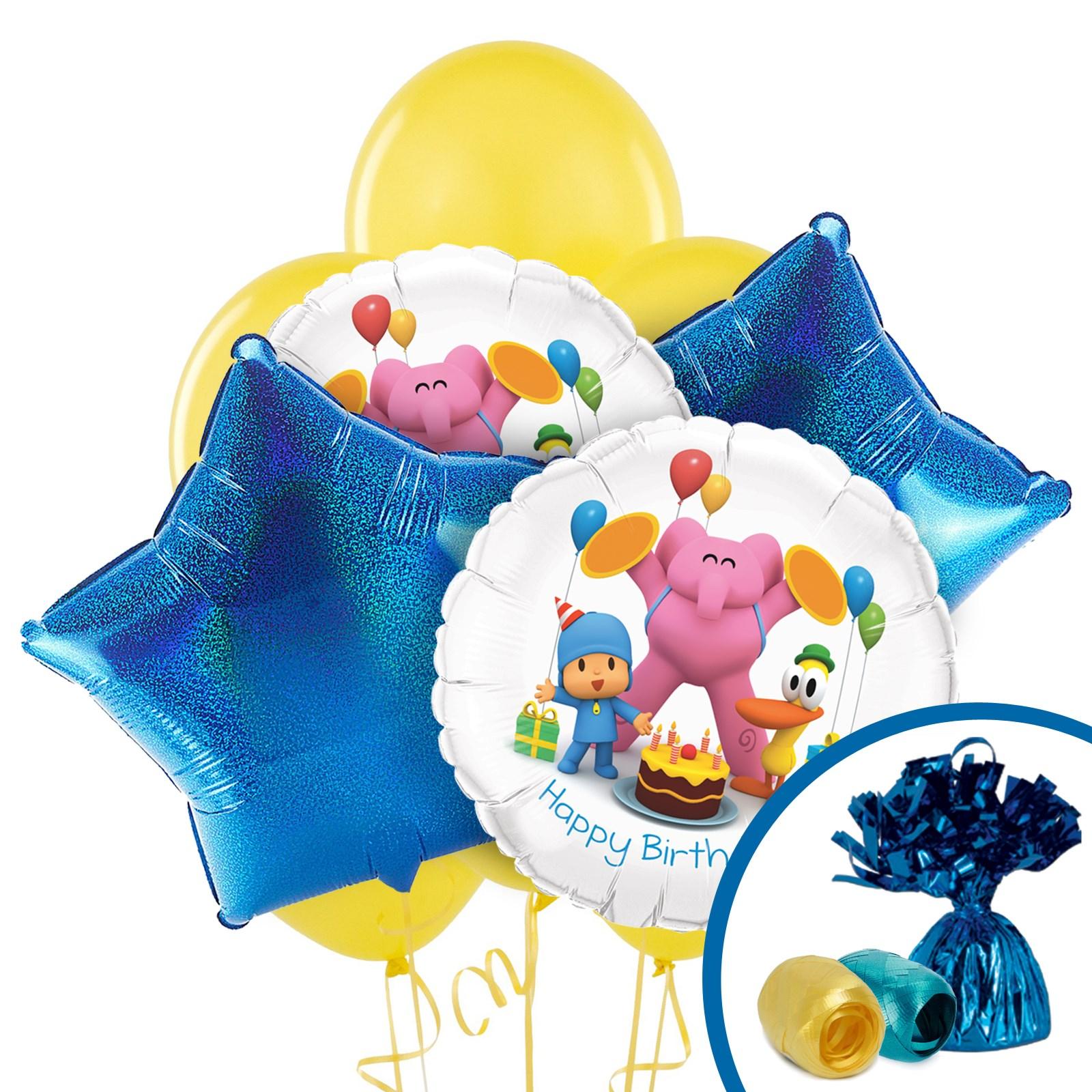 Image of Pocoyo Balloon Bouquet