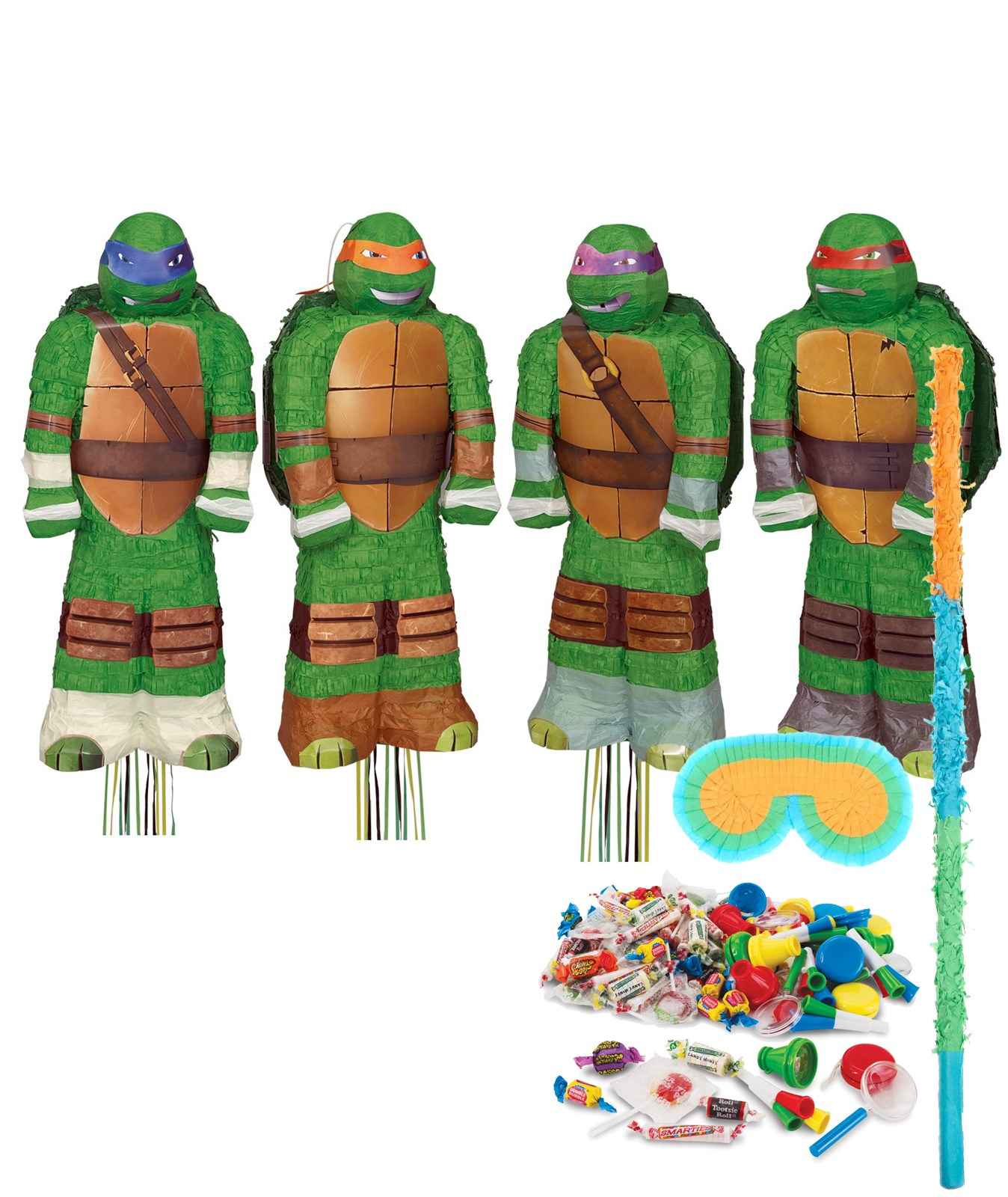 Teenage Mutant Ninja Turtles Shaped Pinata Kit