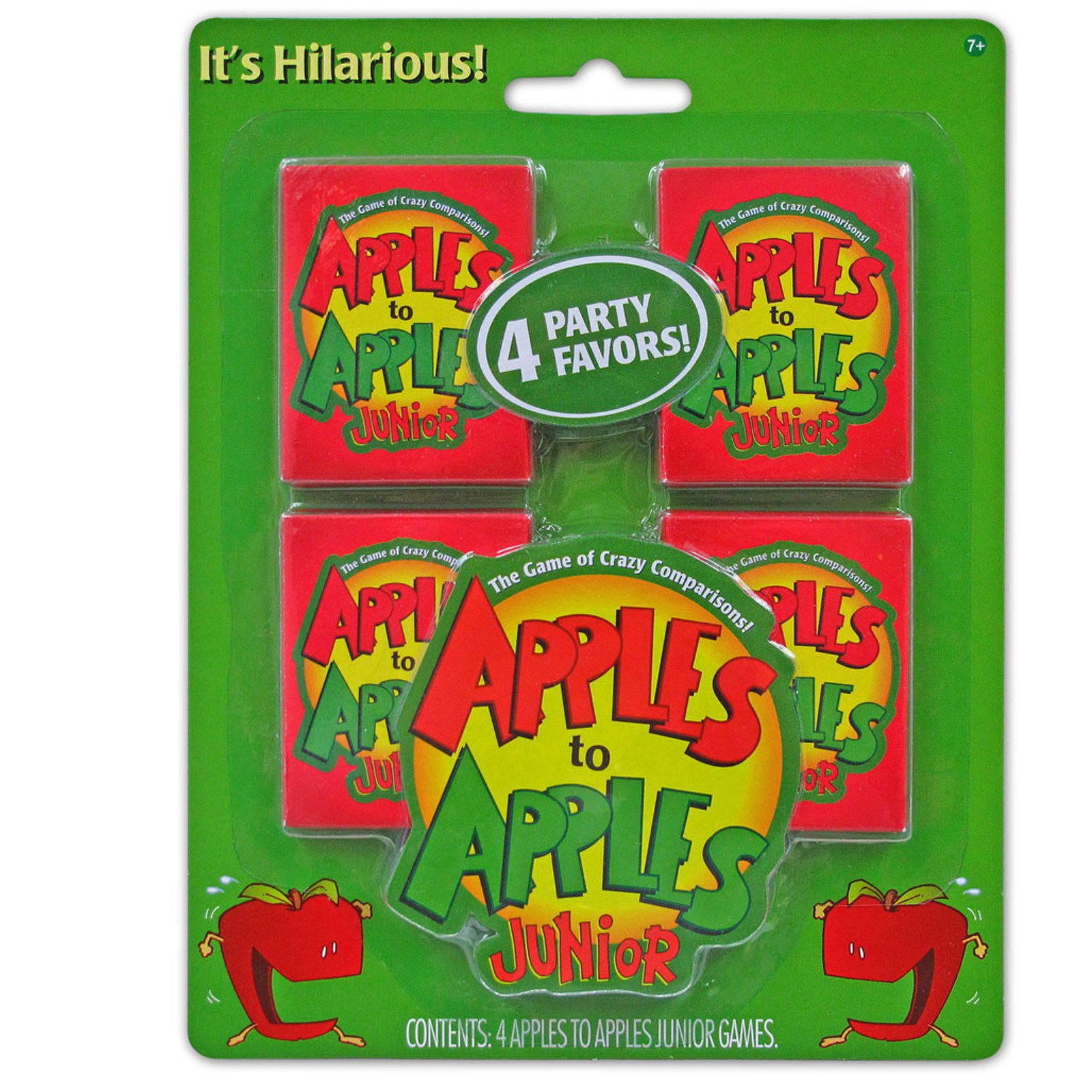 Image of Apples to Apples Junior Mini Card Games