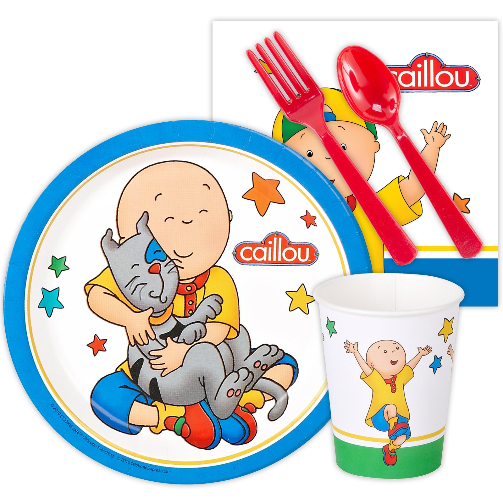 Image of Caillou Playtime Snack Pack