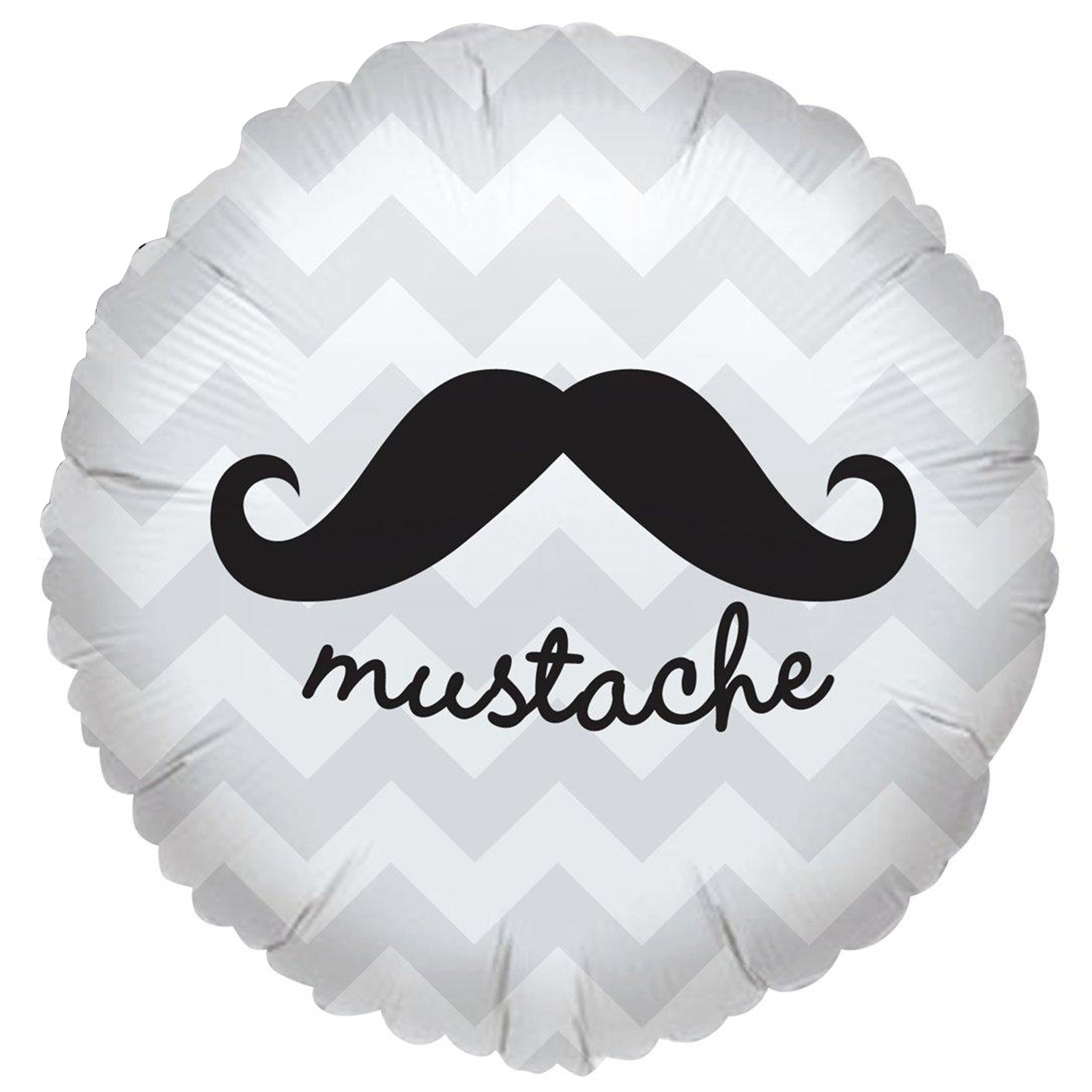 Image of Mustache Foil Balloon