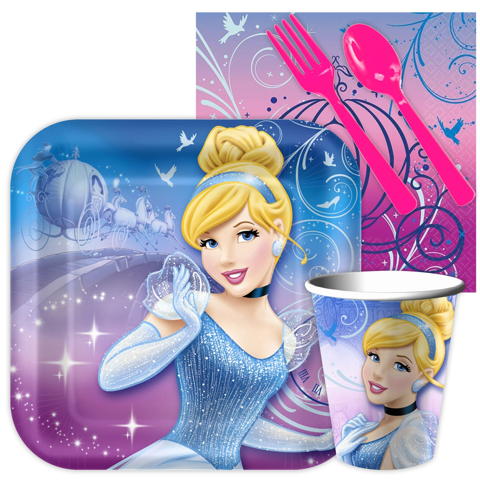Image of Cinderella Sparkle Playtime Snack Pack