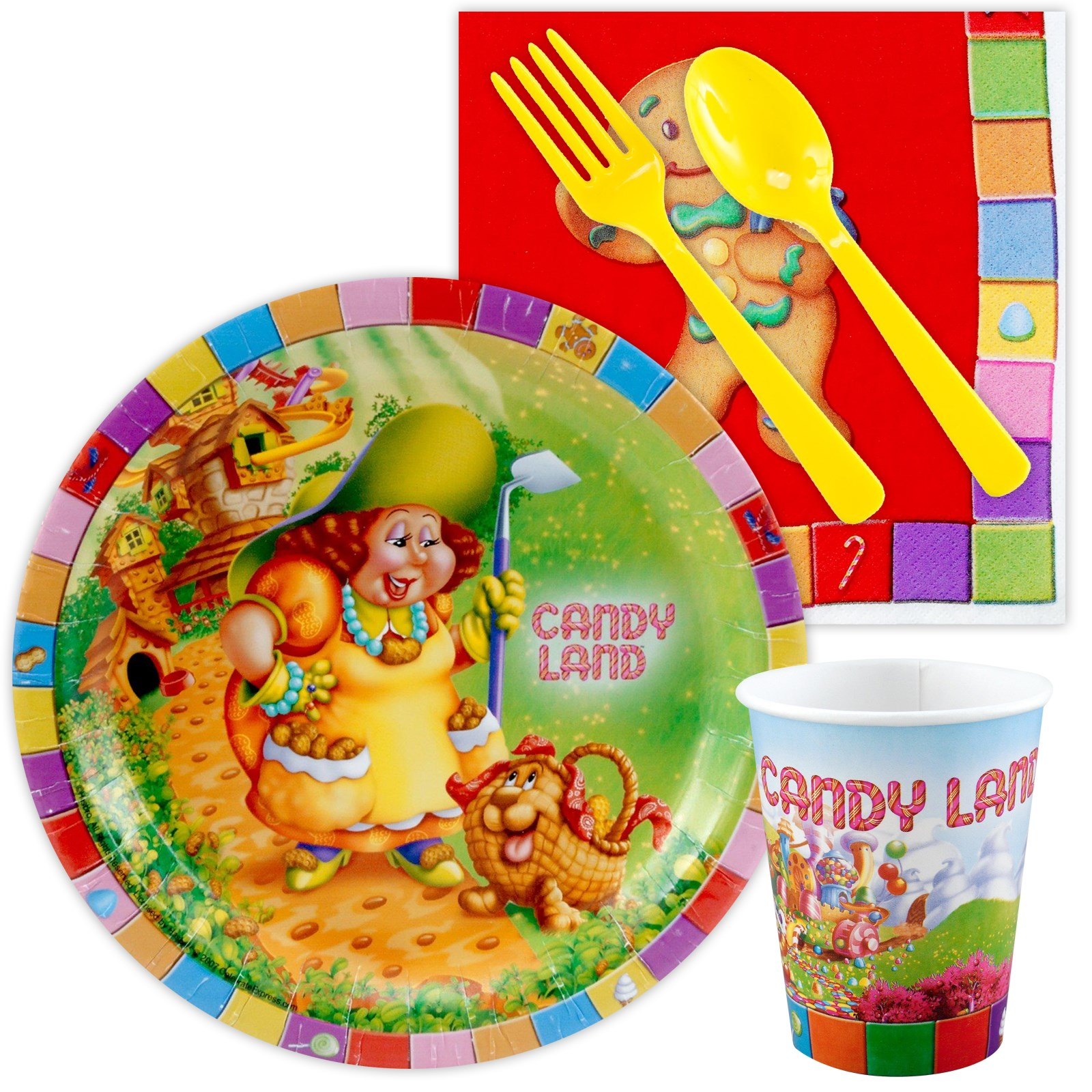 Image of Candy Land Playtime Snack Pack