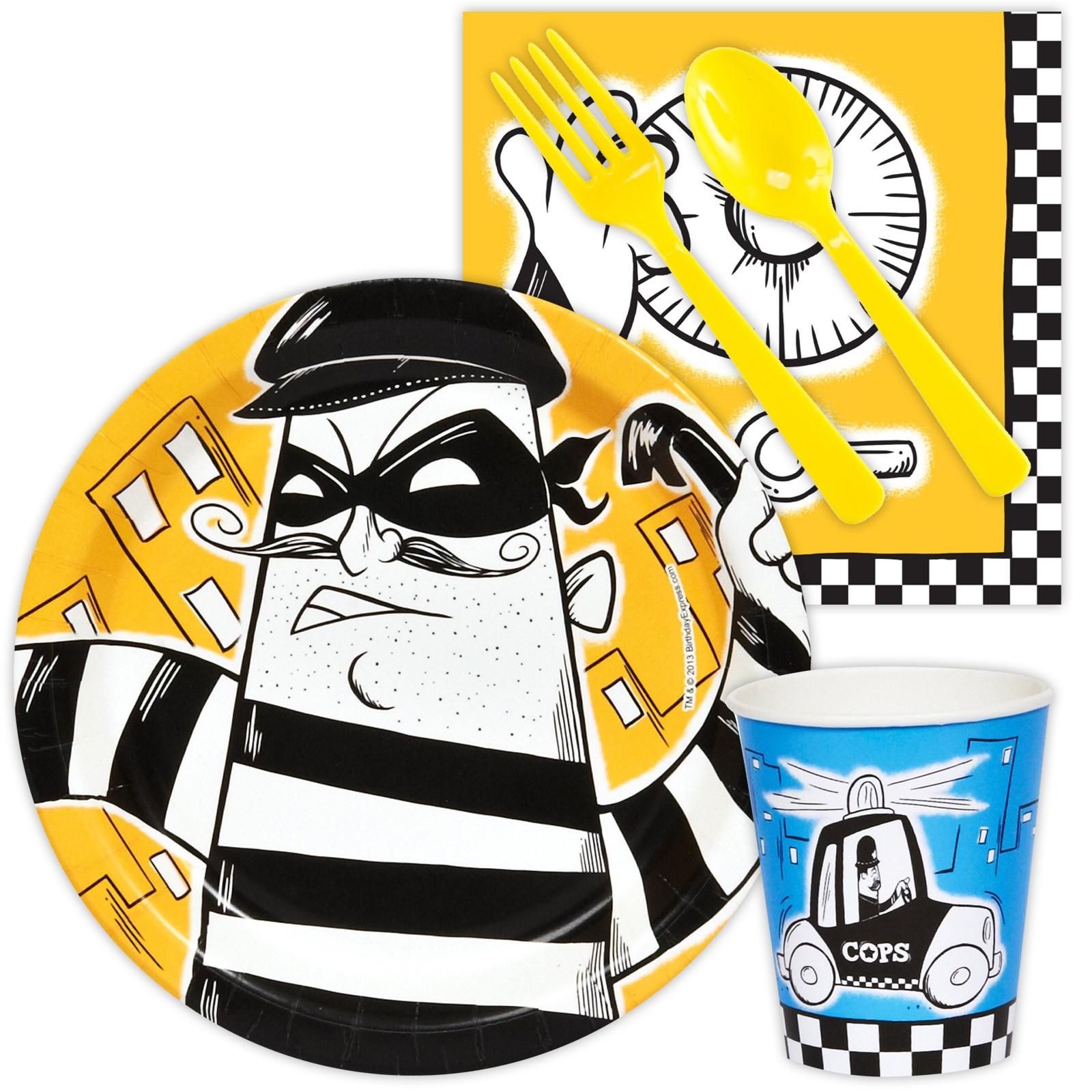 Image of Cops and Robbers Playtime Snack Pack