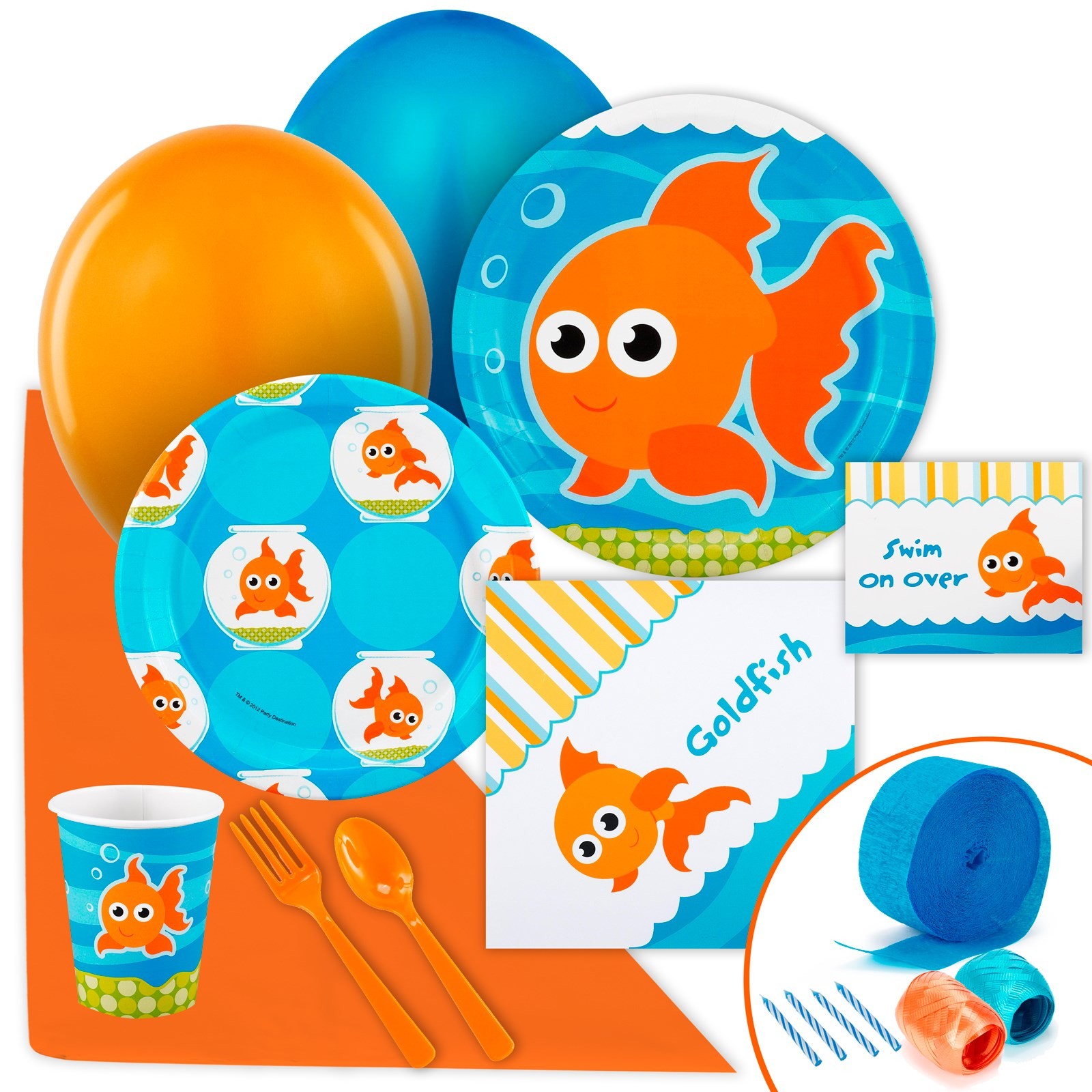 Image of Goldfish Just Because Party Pack for 8