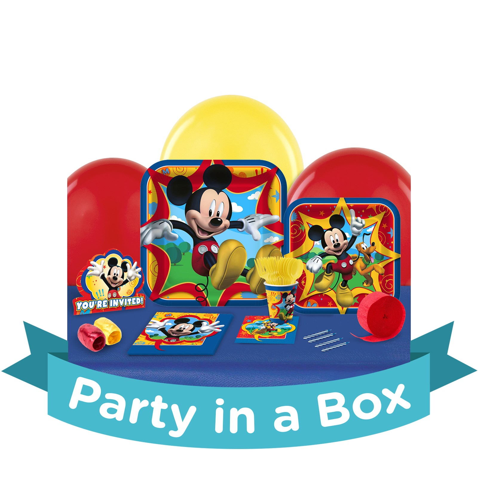 Mickey Fun and Friends Party in a Box - Basic - 16 Guests