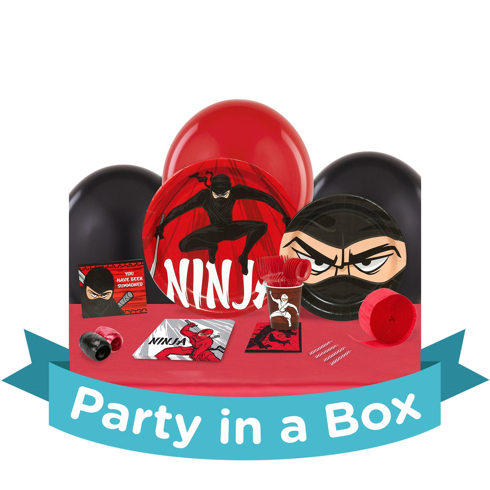 Ninja Warrior Party in a Box - Basic - 8 Guests