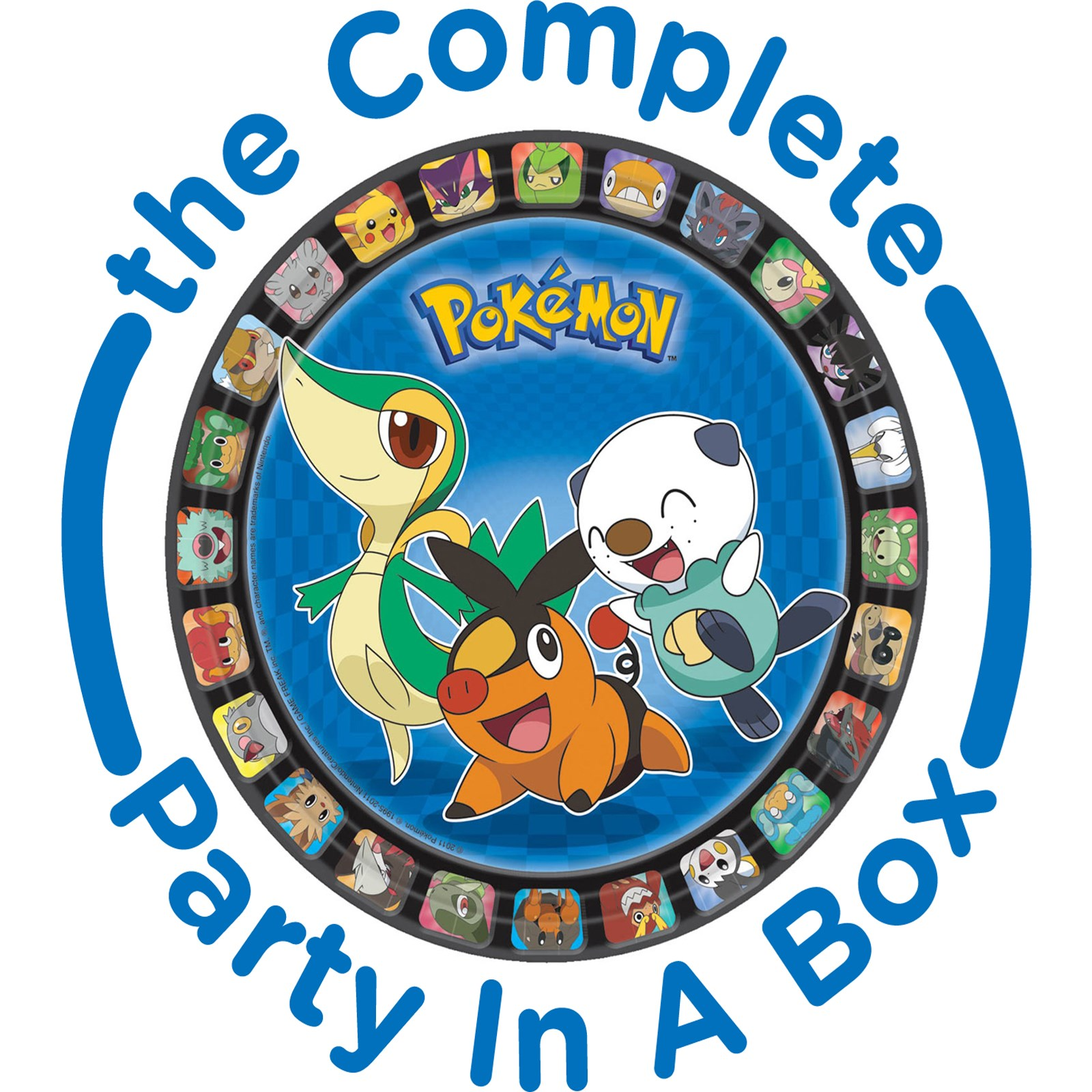 Pokemon Birthday Party in a Box - Deluxe - 8 Guests