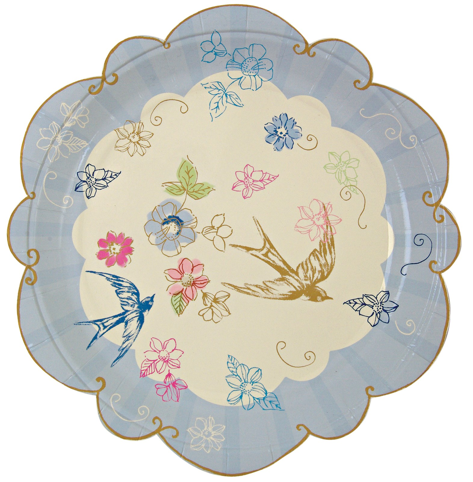 Image of Love in the Afternoon Dessert Plates (12)