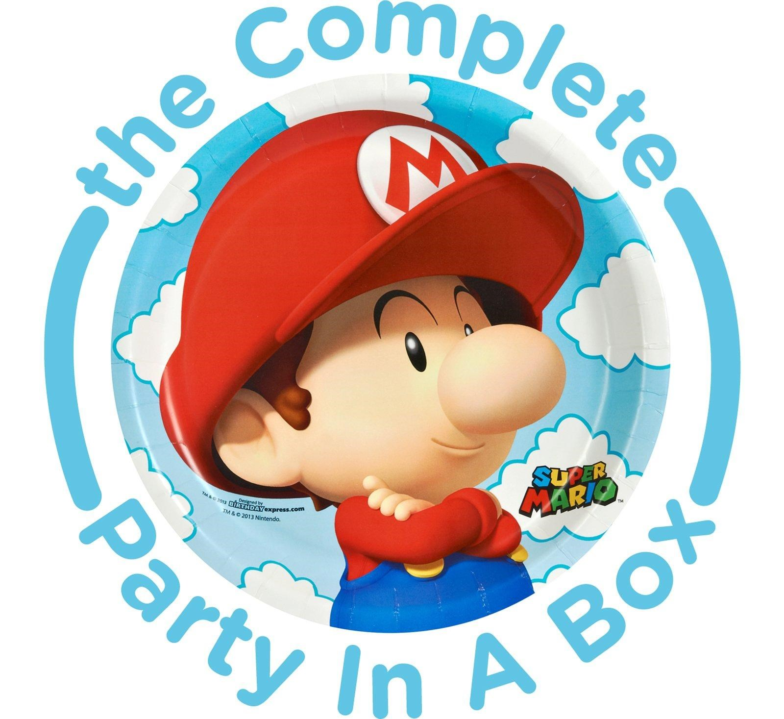Super Mario Bros. Babies Party in a Box - Deluxe - 16 Guests