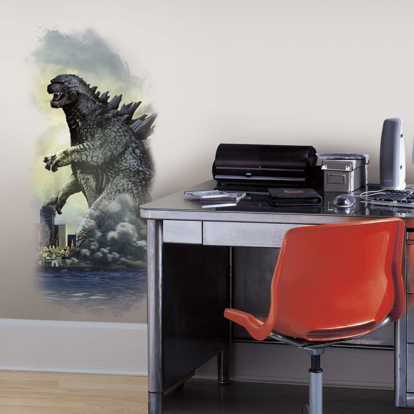 Image of Godzilla City Giant Wall Decals