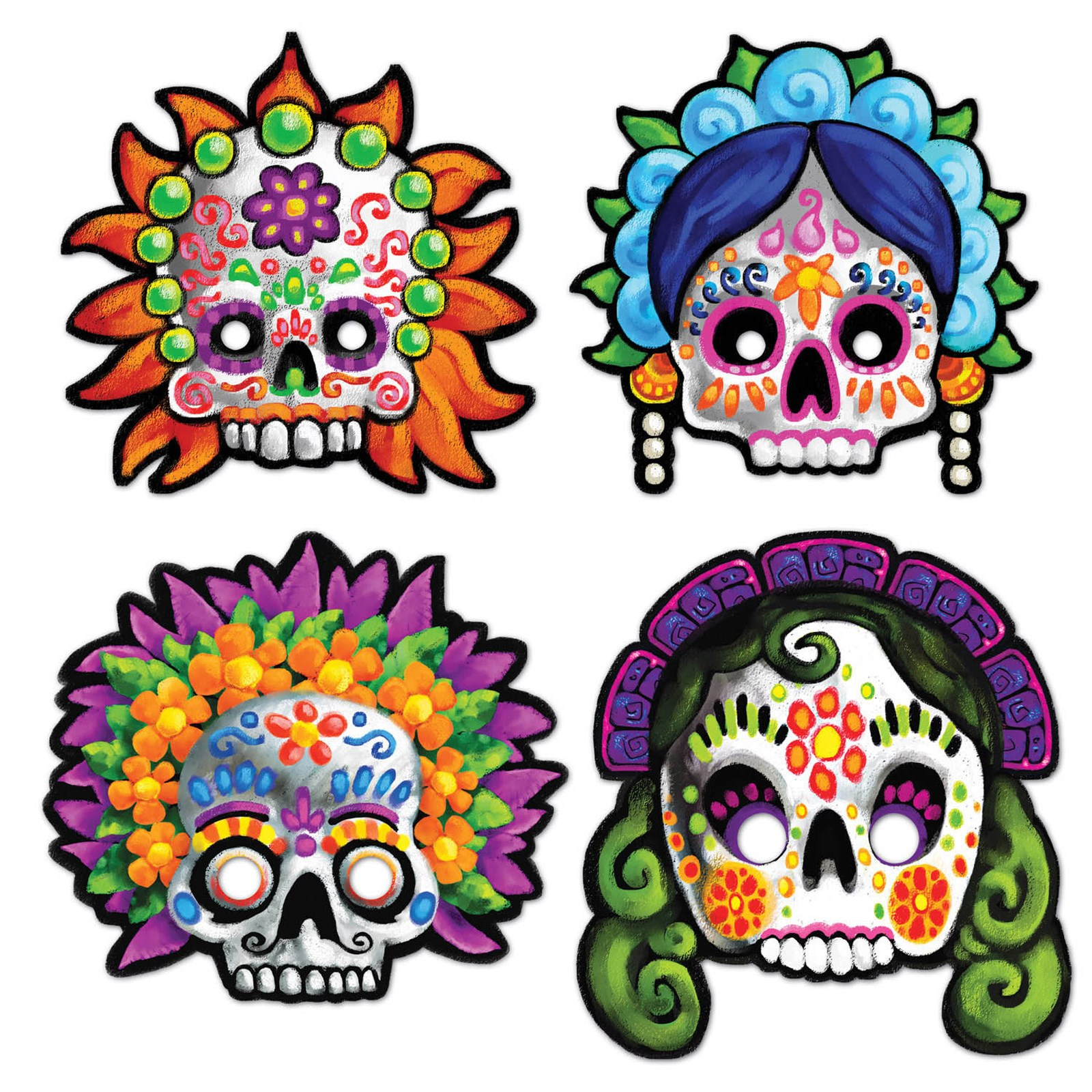 Day of the Dead Masks (4)