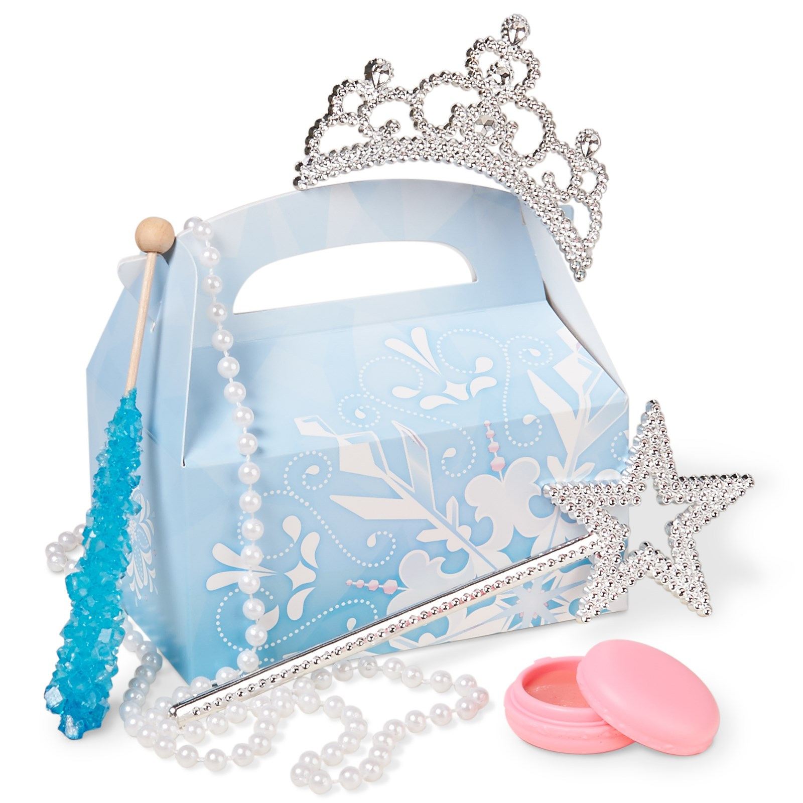 Snowflake Winter Wonderland Filled Party Favor Box