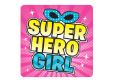 Superhero Girl Logo