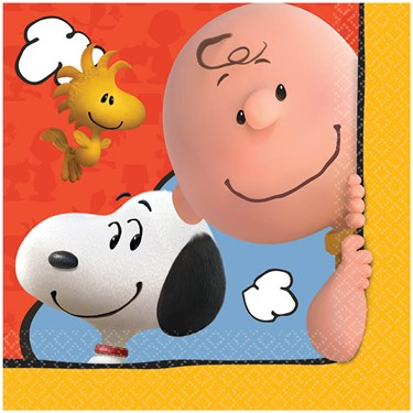 Peanuts Lunch Napkins (16)