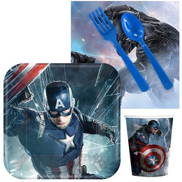 Captain America Civil War Snack Party Pack