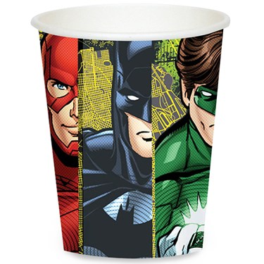 Justice League 9 oz. Paper Cups (8)